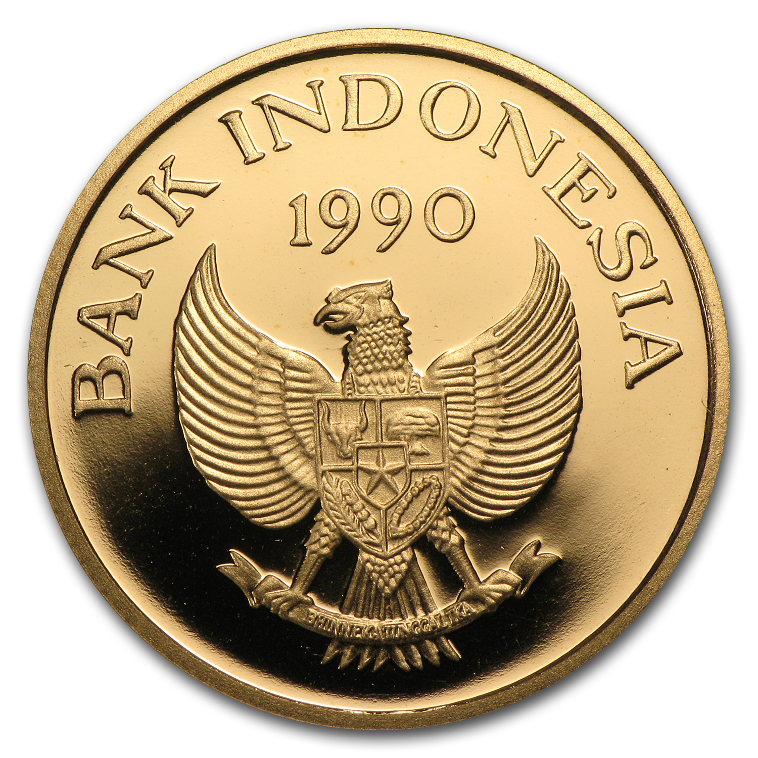 Indonesia 1990 Gold 200000 Rupiah Proof Save the Children