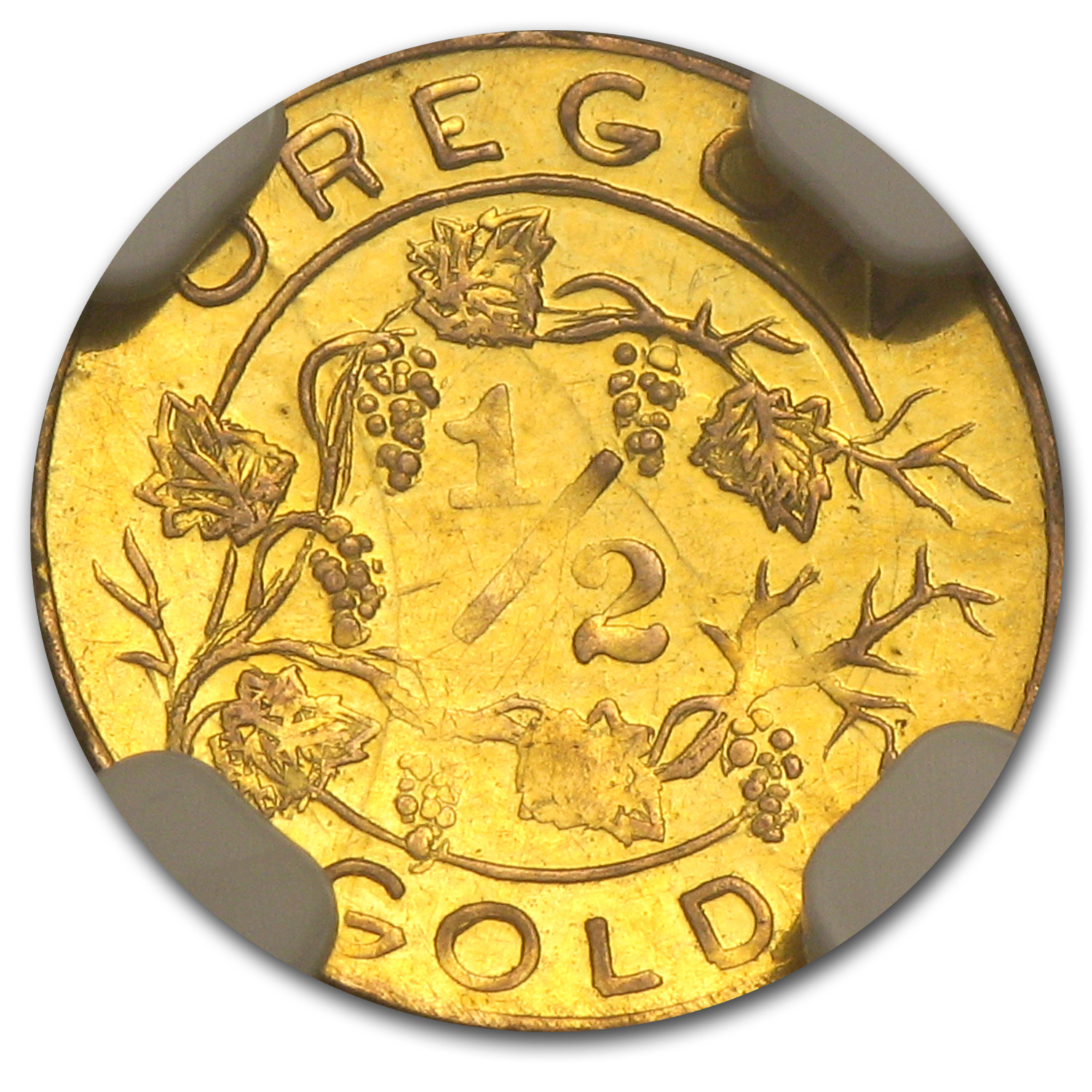 1905 Oregon Gold 50 Cent Lewis and Clark Exposition MS-61 NGC