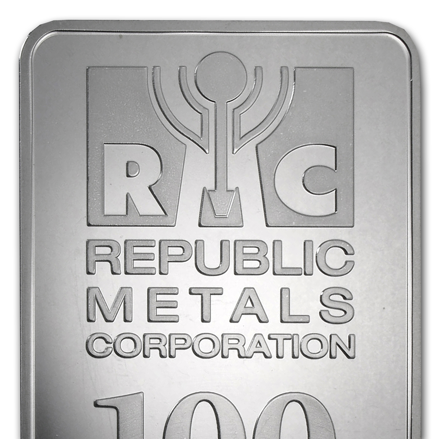 100 oz Silver Bars - Republic Metals Corp.
