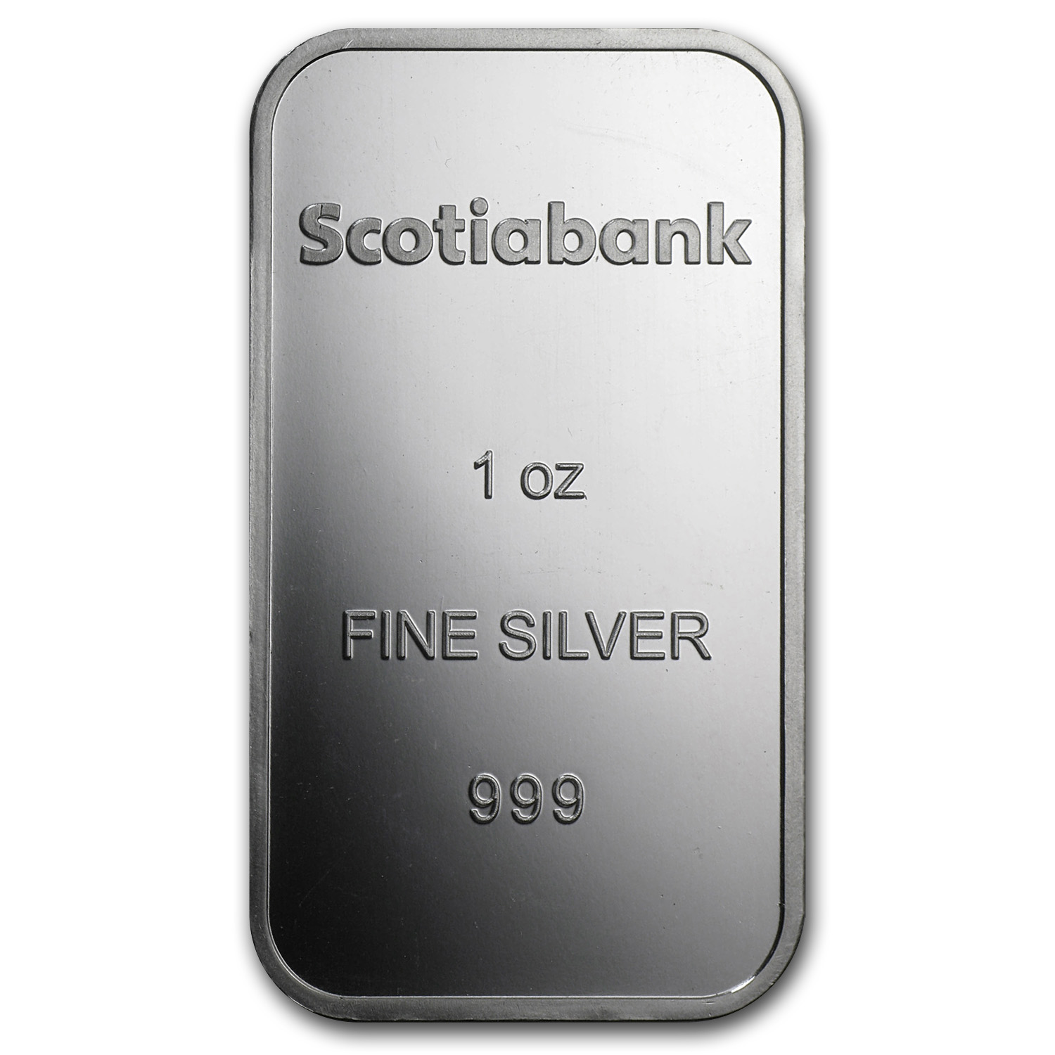 1 oz Silver Bar - Scotiabank