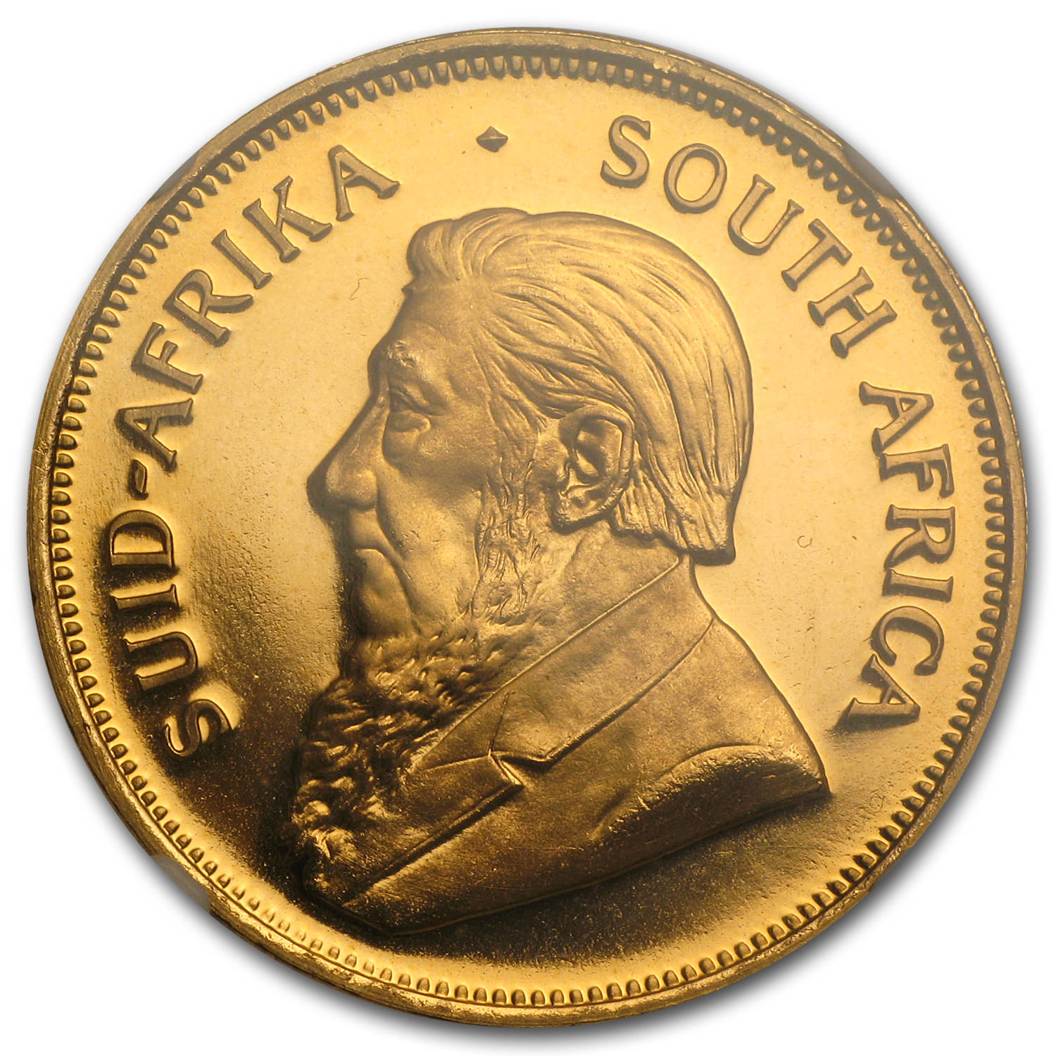 1971 1 oz Gold South African Krugerrand PF-67 UCAM NGC