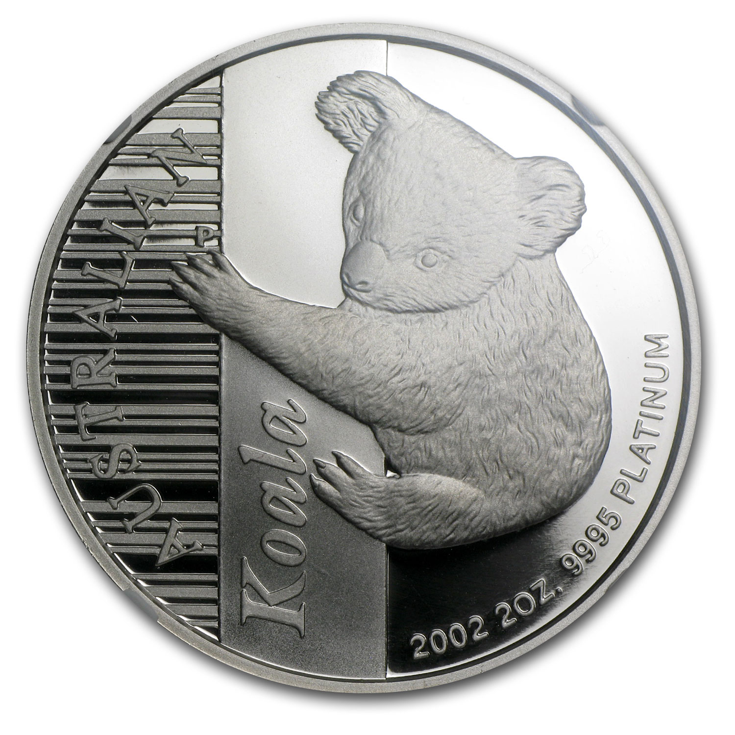 2002 Australia 2 oz Proof Platinum Koala PF-70 NGC