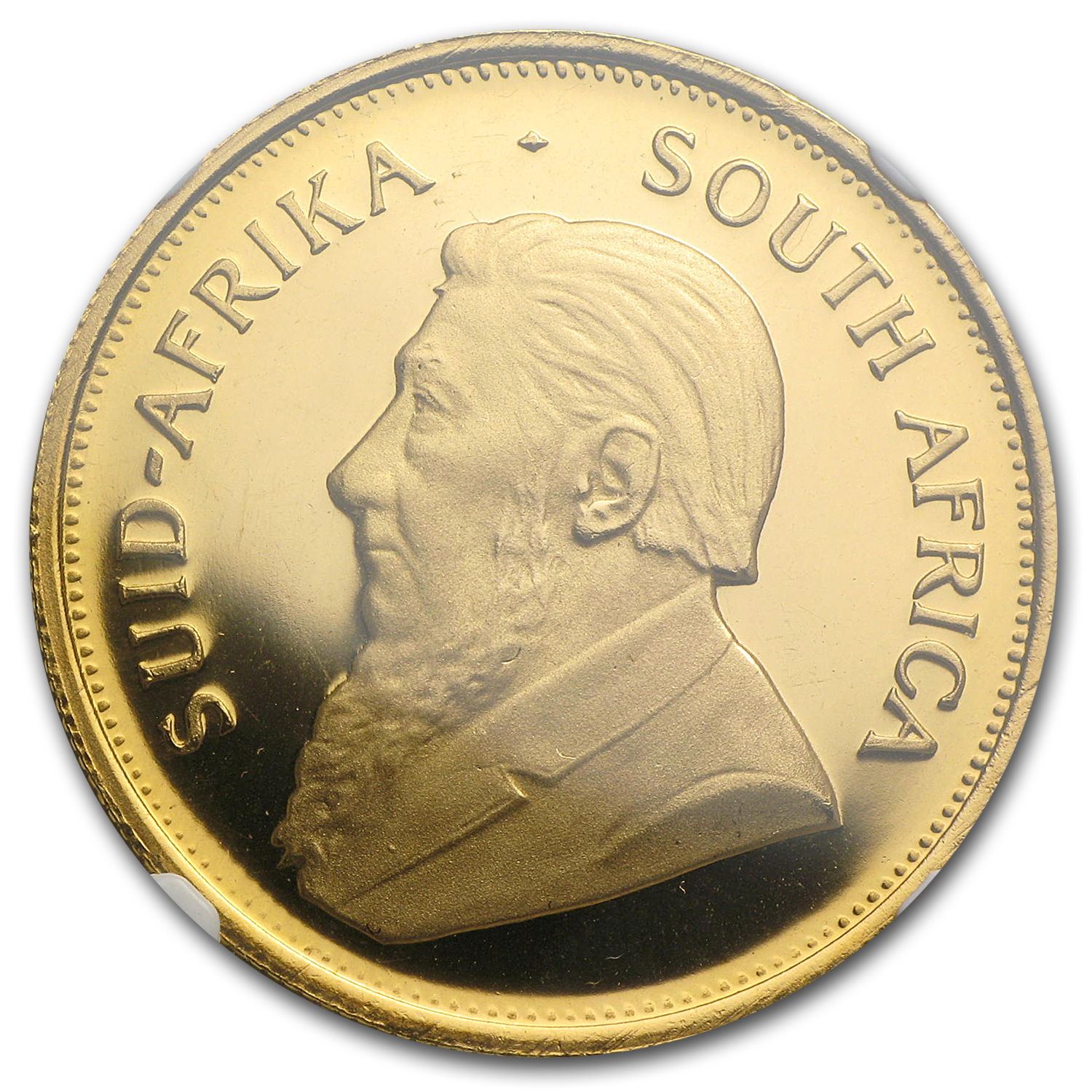 1970 1 oz Gold South African Krugerrand PF-67 UCAM NGC