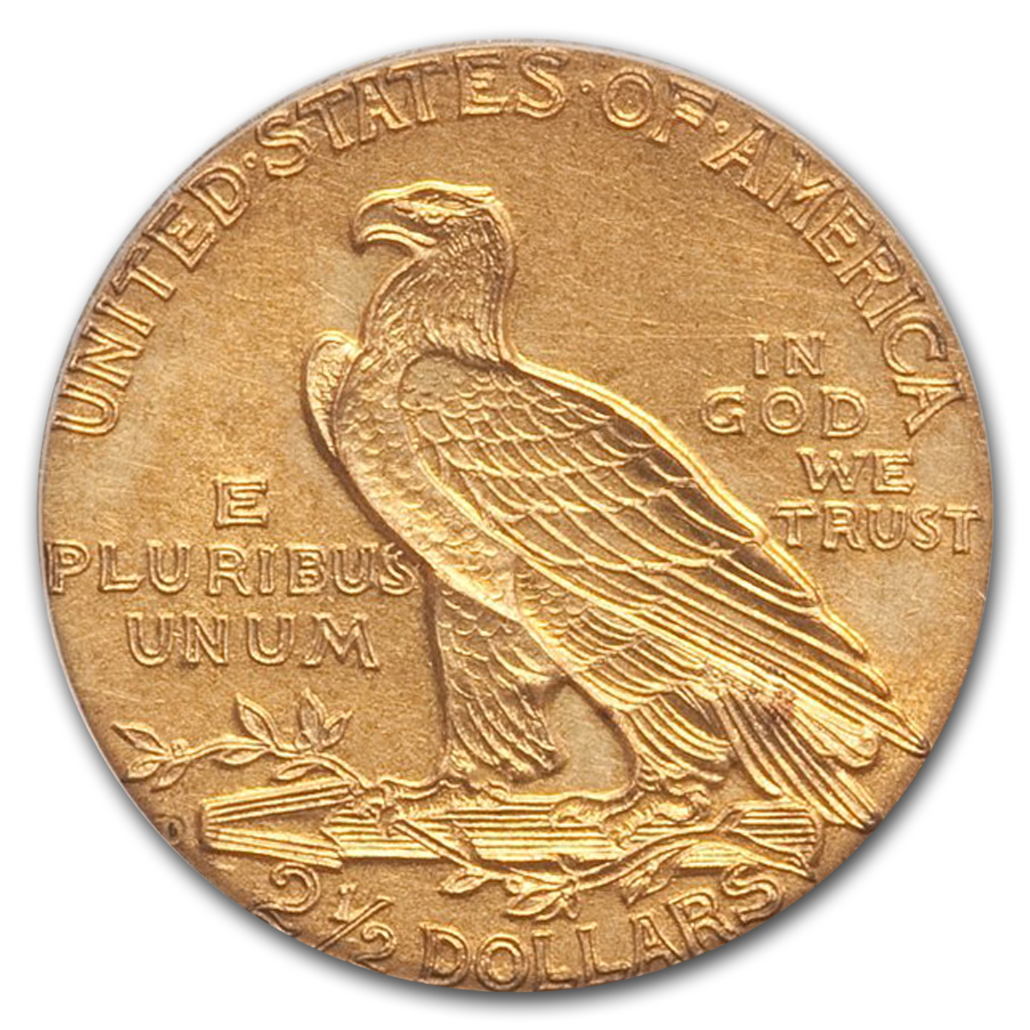 1911-D $2.50 Indian Gold Quarter Eagle - AU-55 PCGS - Key Date!