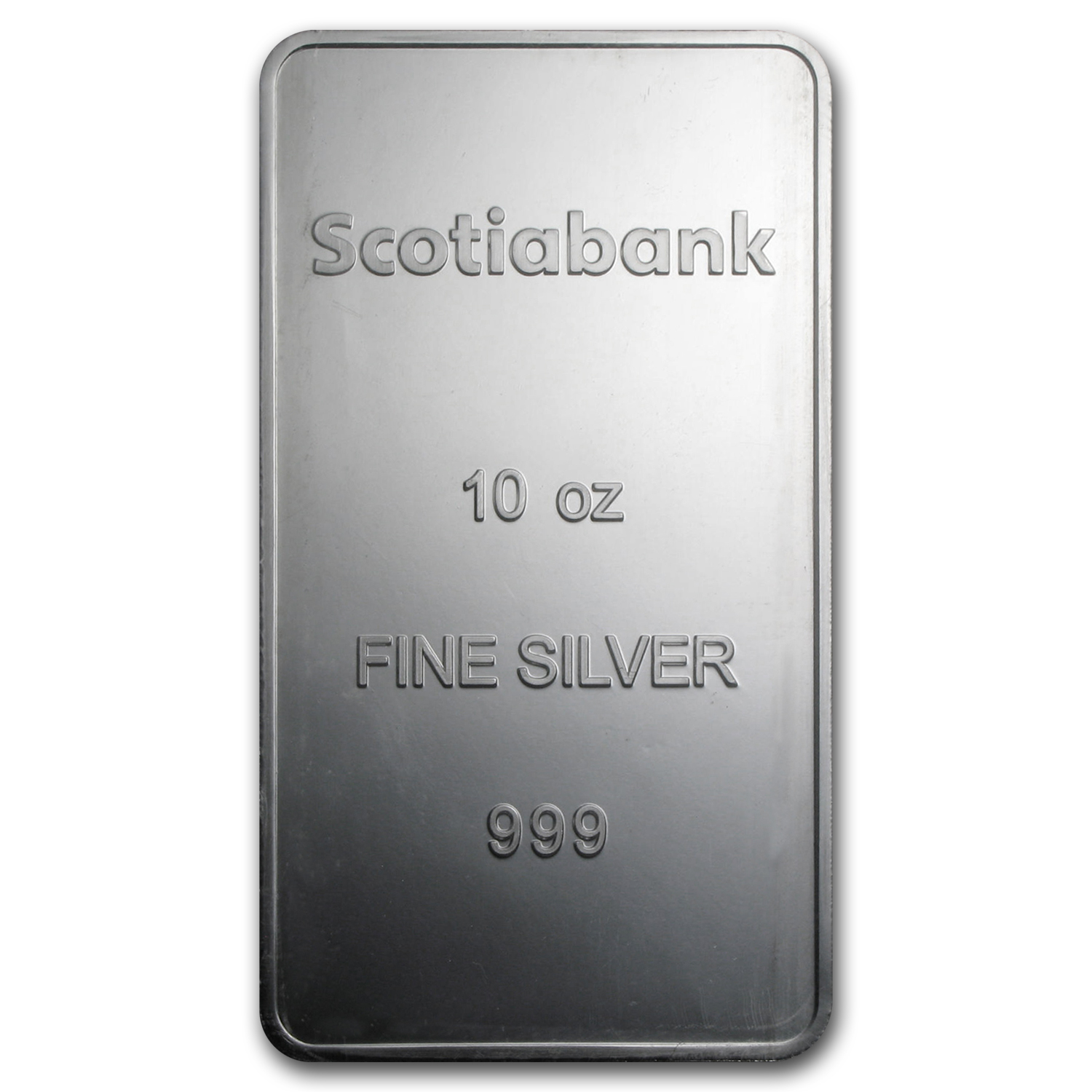 10 oz Silver Bar - Scotiabank