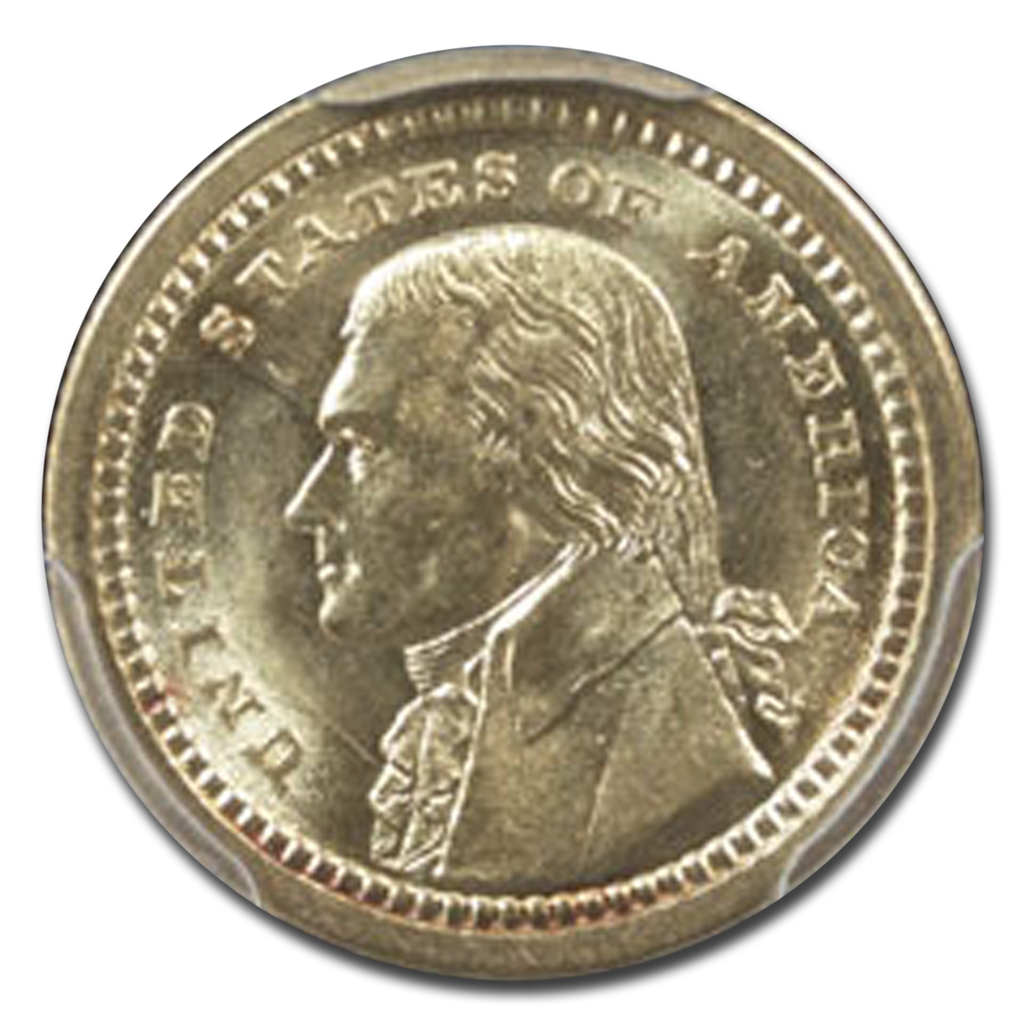 1903 $1.00 Gold Louisiana Purchase - Jefferson MS-63 PCGS