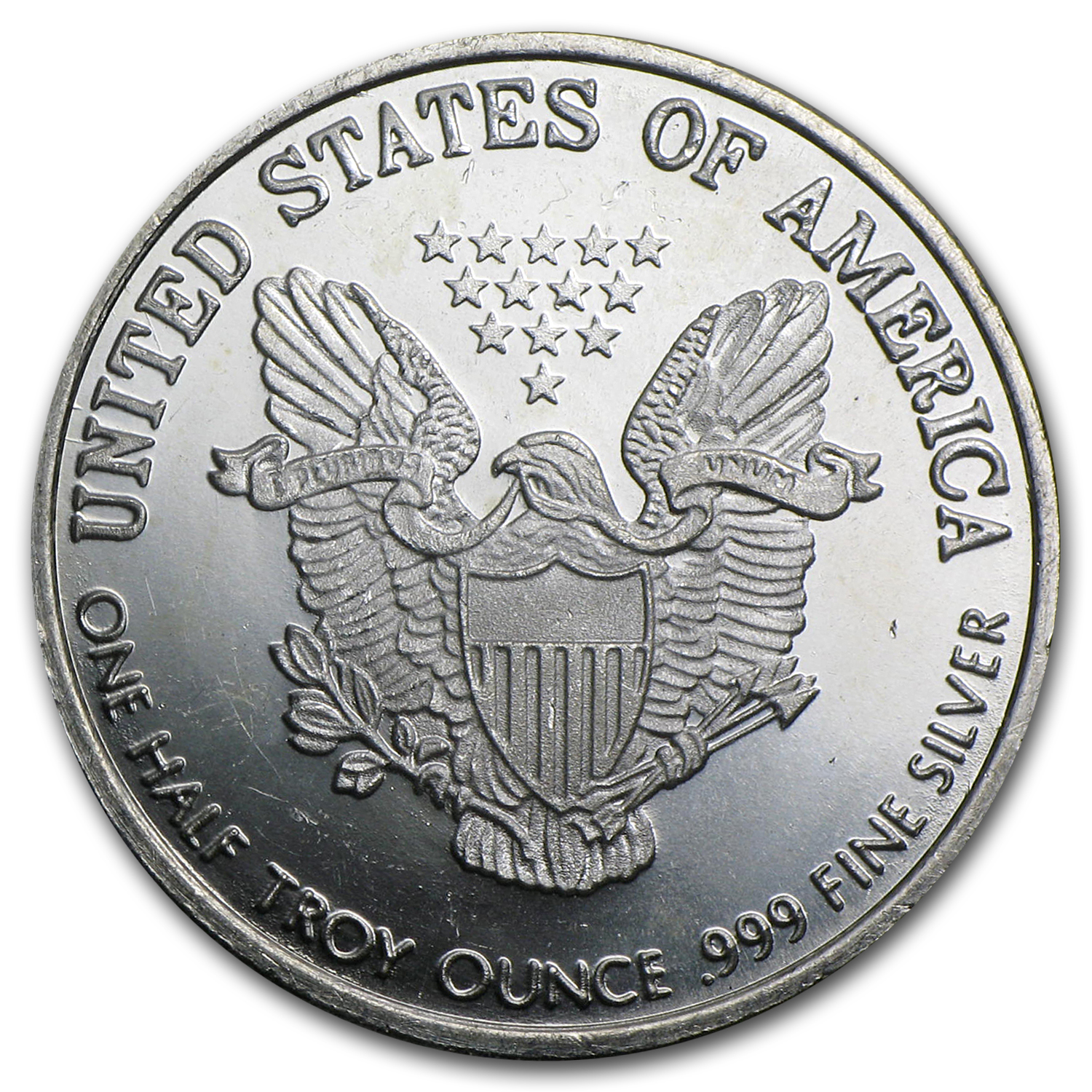 1/2 oz Silver Round - Silver Eagle (Walking Liberty/Replica)