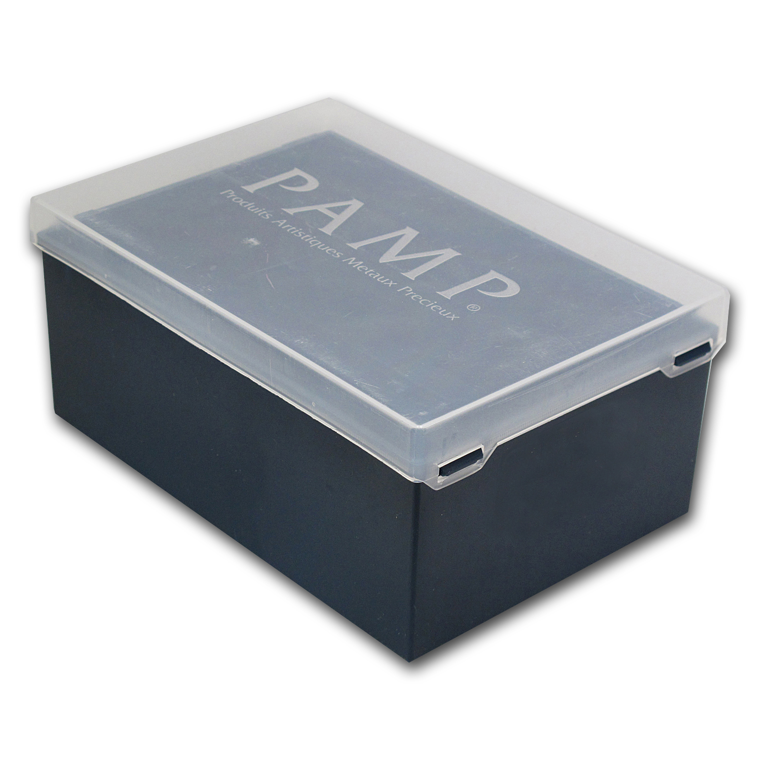 Empty Pamp 500 - 1000 gram Silver Bar Plastic Storage Box (Used)
