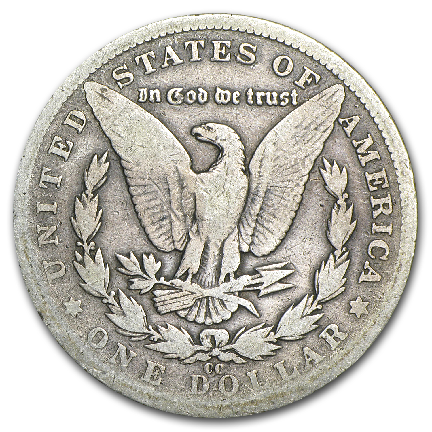 1885-CC Morgan Dollar Good