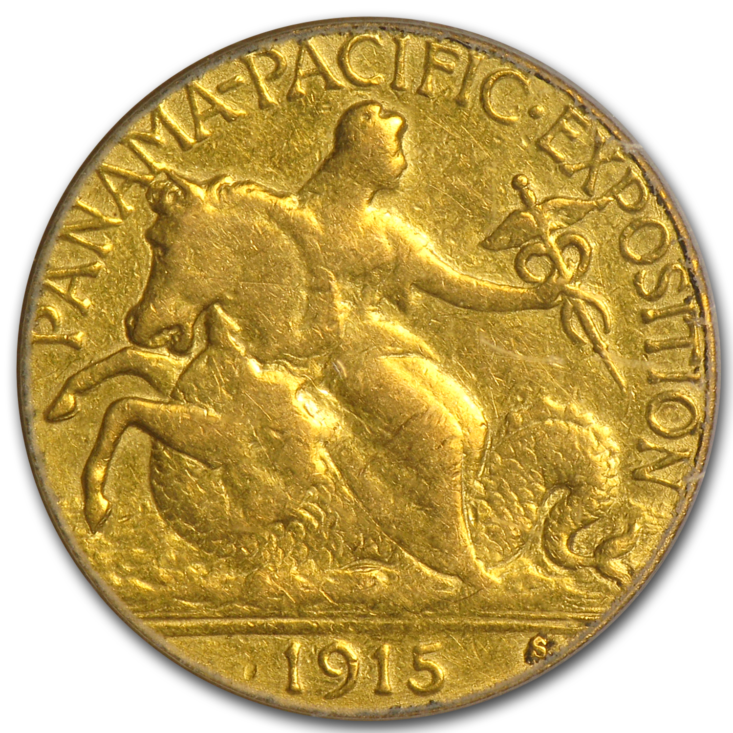 1915-S Gold $2.50 Panama-Pacific XF-45 PCGS