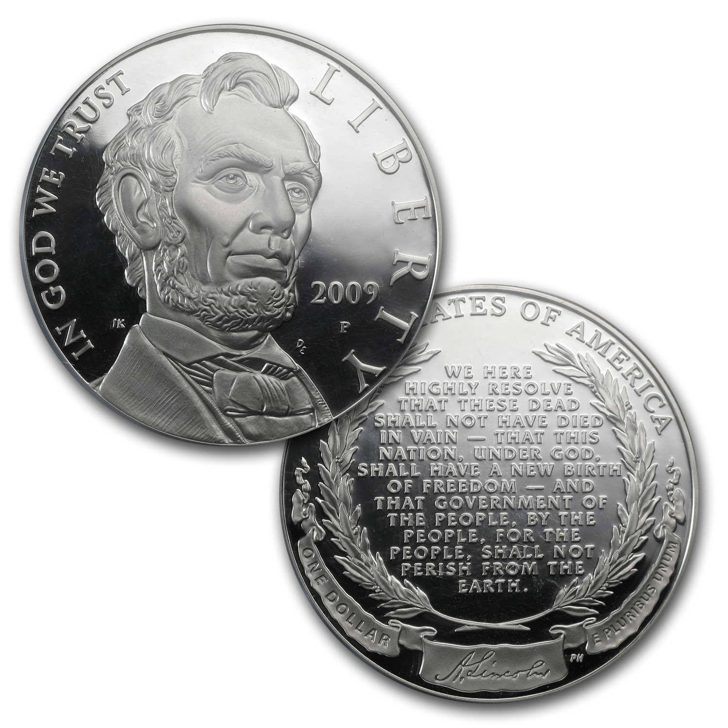 2009-P 5-pc A. Lincoln Chronicles $1 Silver Pf Set PR-69 PCGS