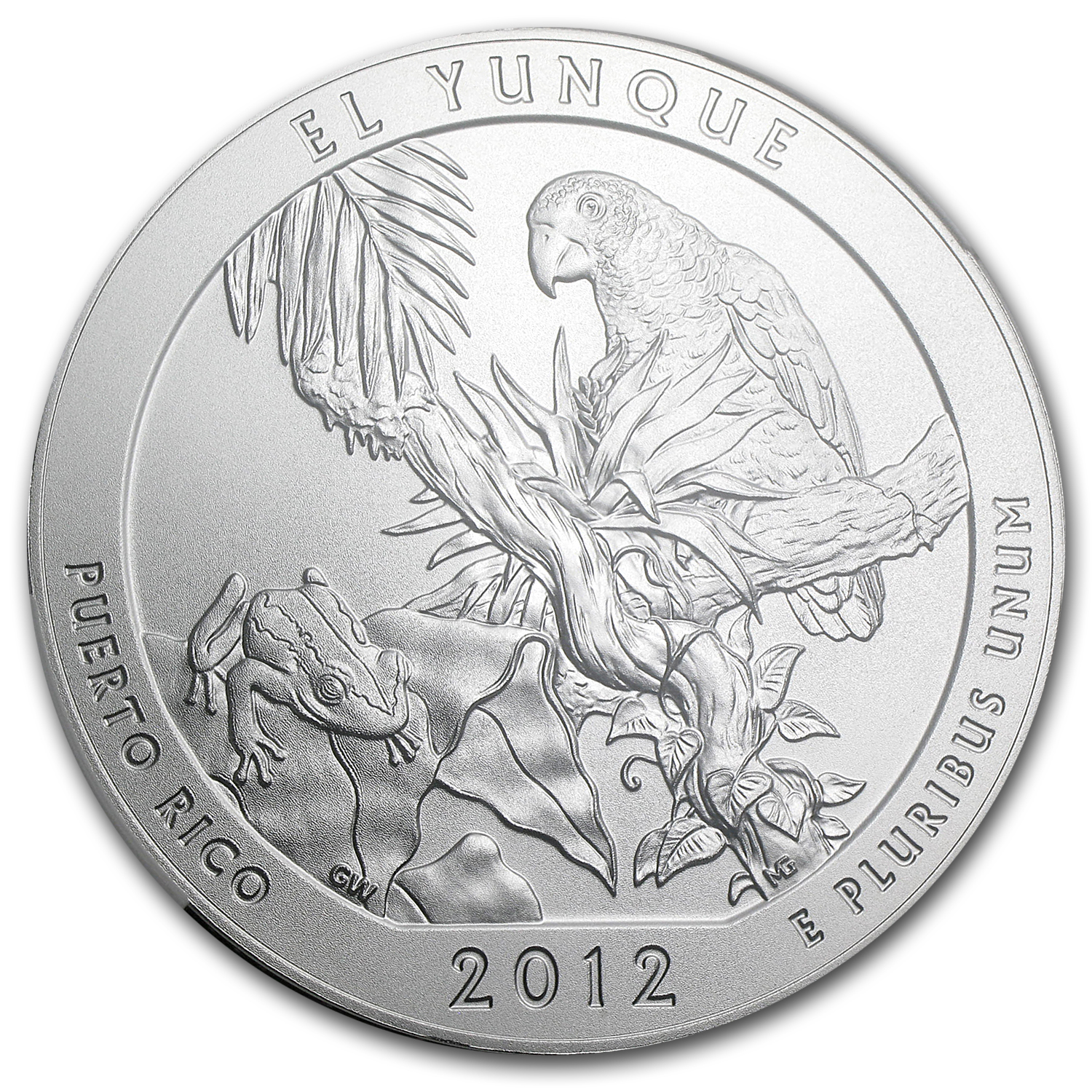 2012-P 5 oz Silver ATB El Yunque SP-70 NGC (Early Releases)