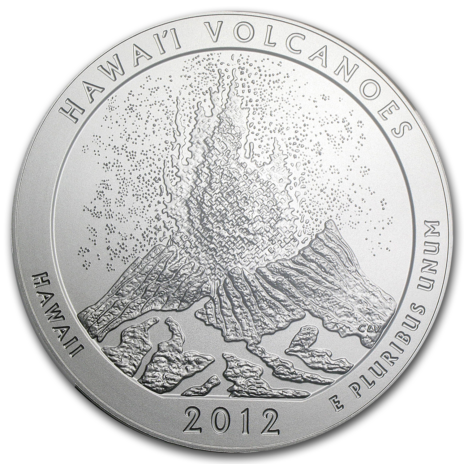 2012-P 5 oz Hawaii Volcanoes SP-70 NGC