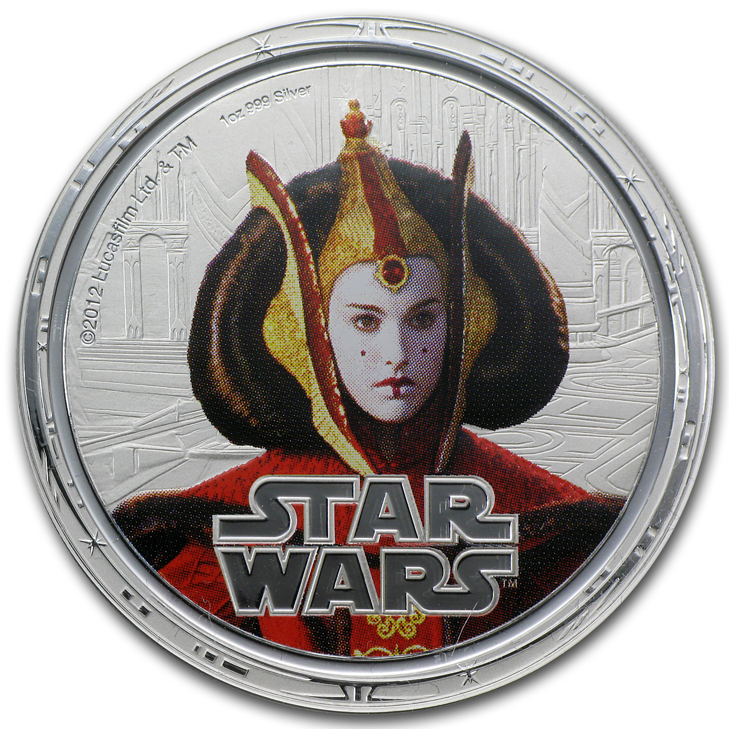 2012 4-Coin Silver Star Wars Darth's Helmet Proof Set (Series 2)