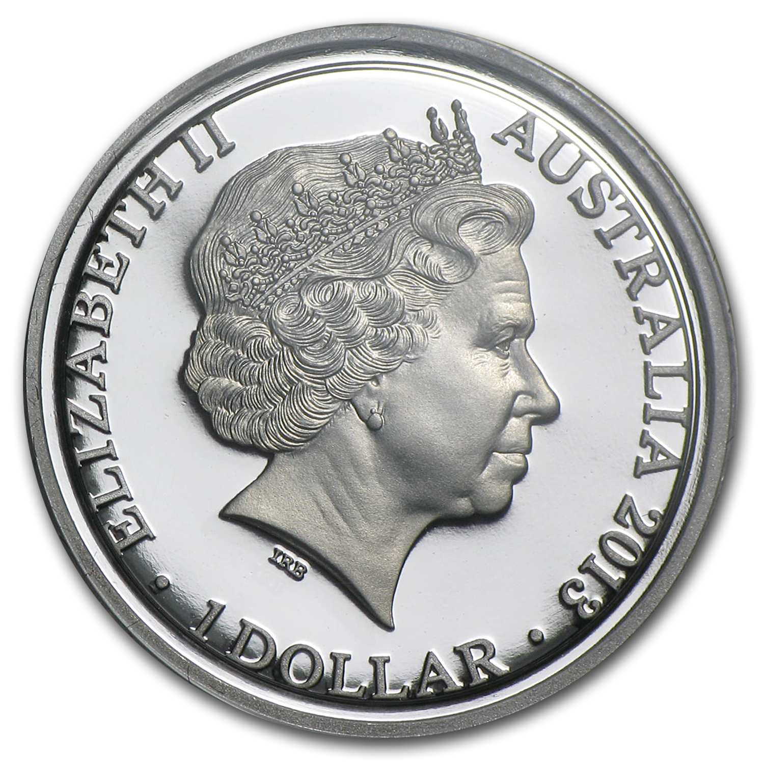 2013 Australia Silver $1 Kangaroo at Sunset