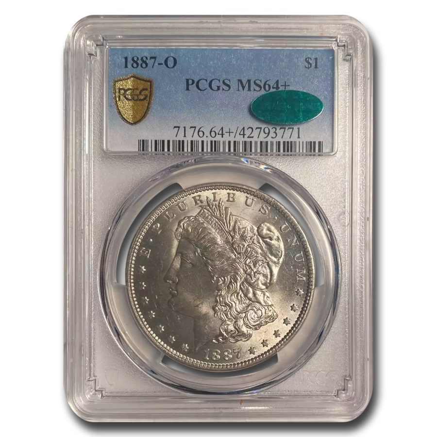 1887-O Morgan Dollar MS-64+ Plus PCGS - CAC