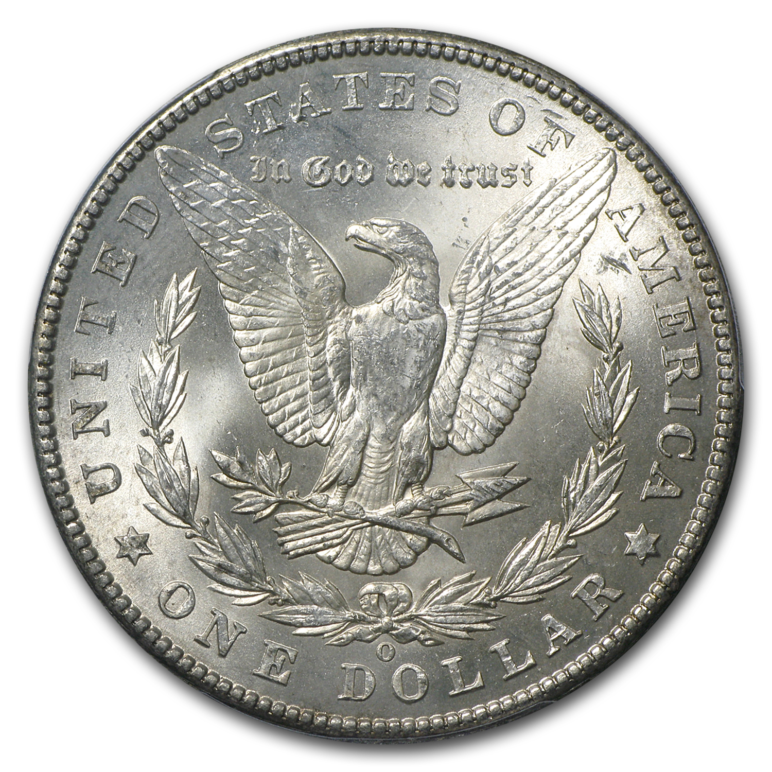 1902-O Morgan Dollar MS-63 PCGS (CAC, Blue & Purple Toning)
