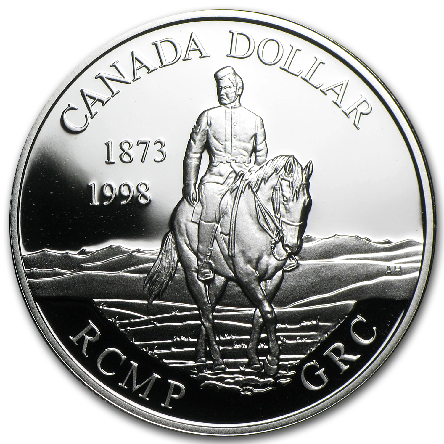 1999 Canada Silver $1 Royal Canadian Mounted Police Proof