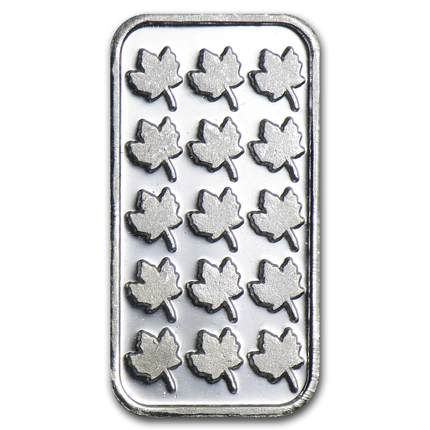1 gram Silver Bars - Maple Leaf