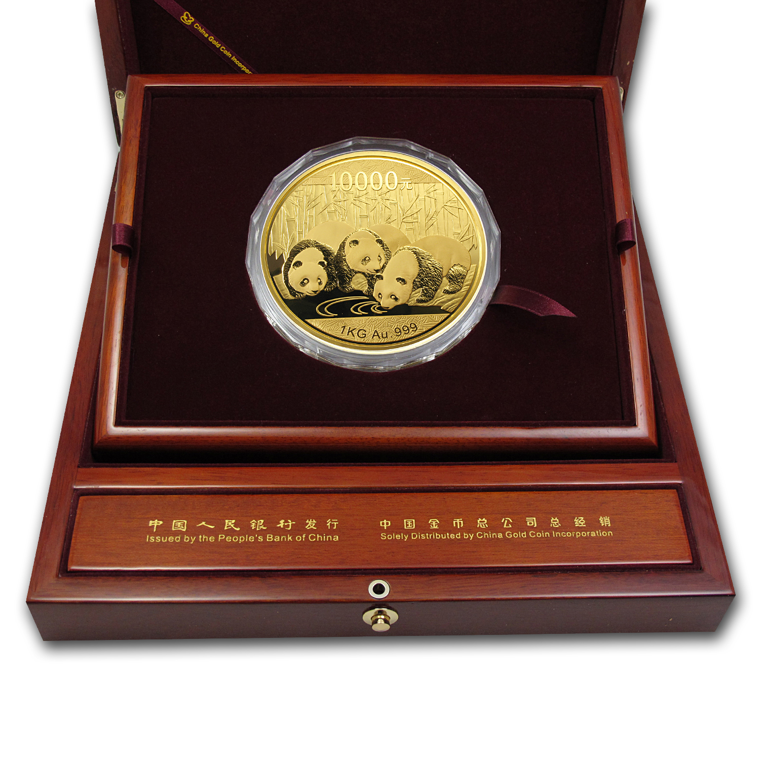 2013 China 1 kilo Gold Panda Proof (w/Box & COA)