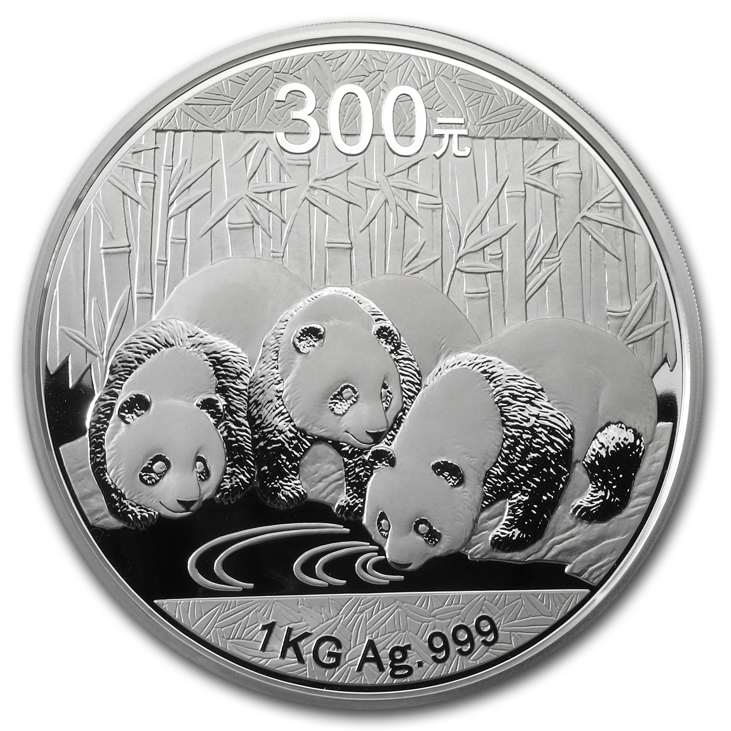 2013 China 1 kilo Silver Panda Proof (w/Box & COA)