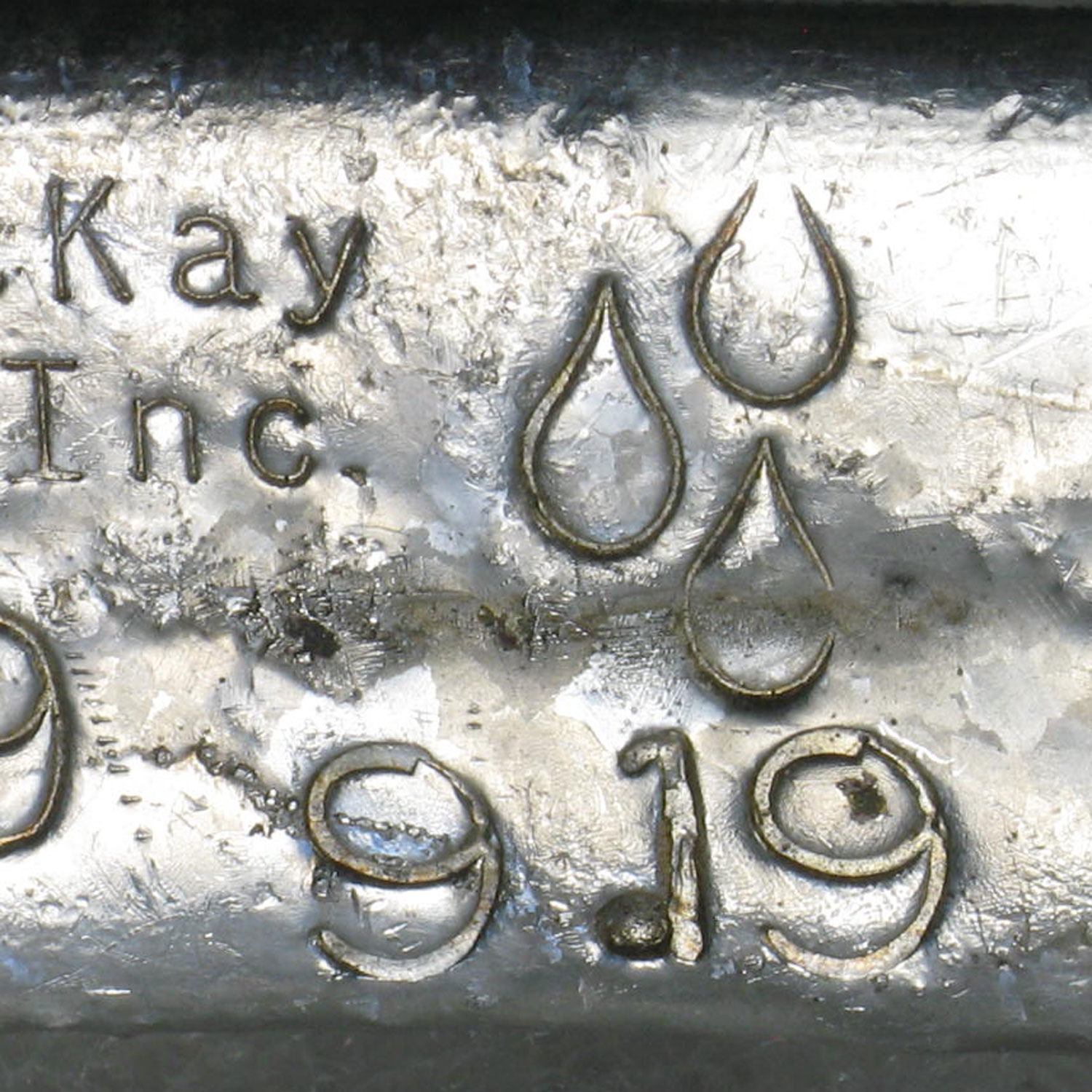 9.19 oz Silver Bar - B. R. MacKay & Sons