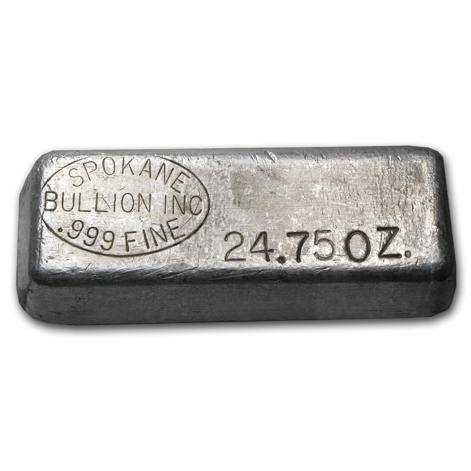 24.75 oz Silver Bar - Spokane Bullion Inc