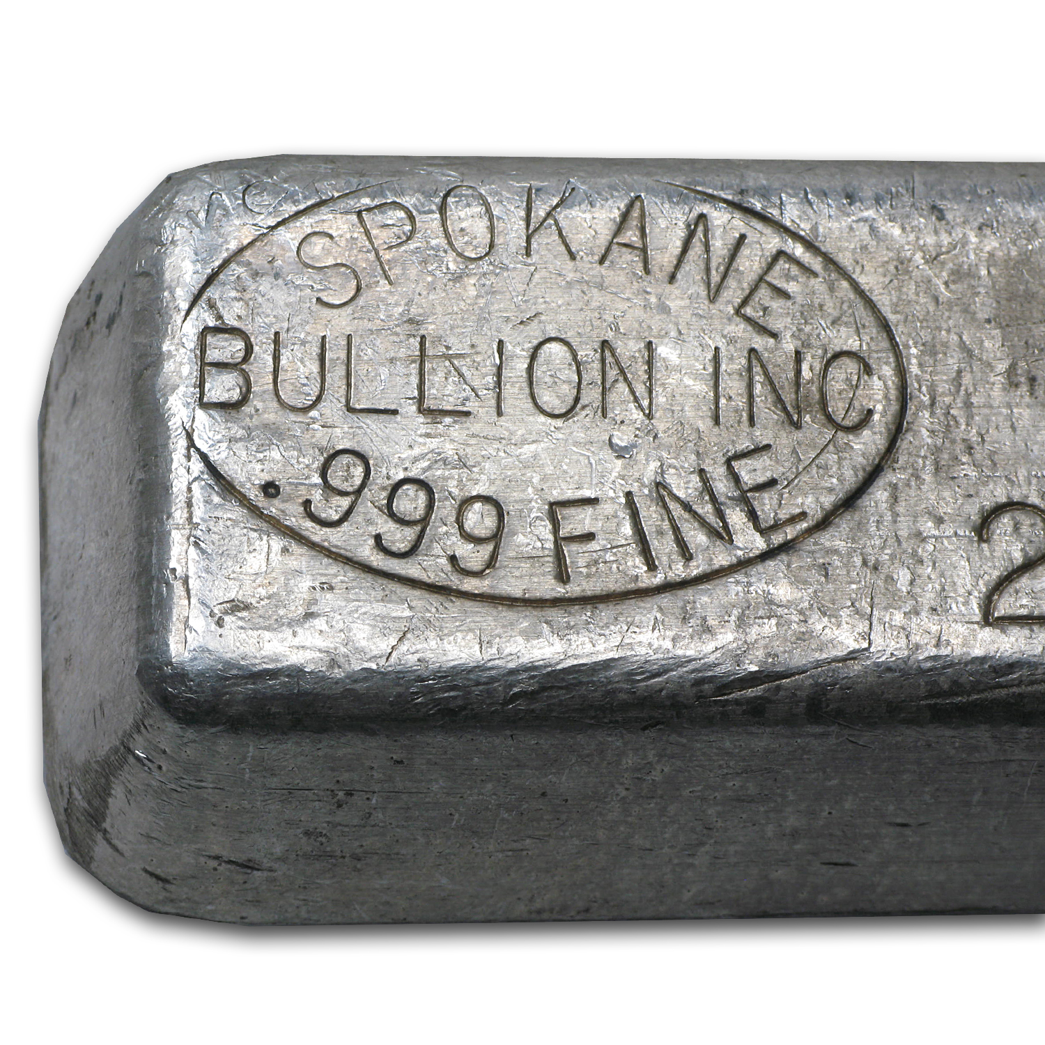 24.75 oz Silver Bars - Spokane Bullion Inc