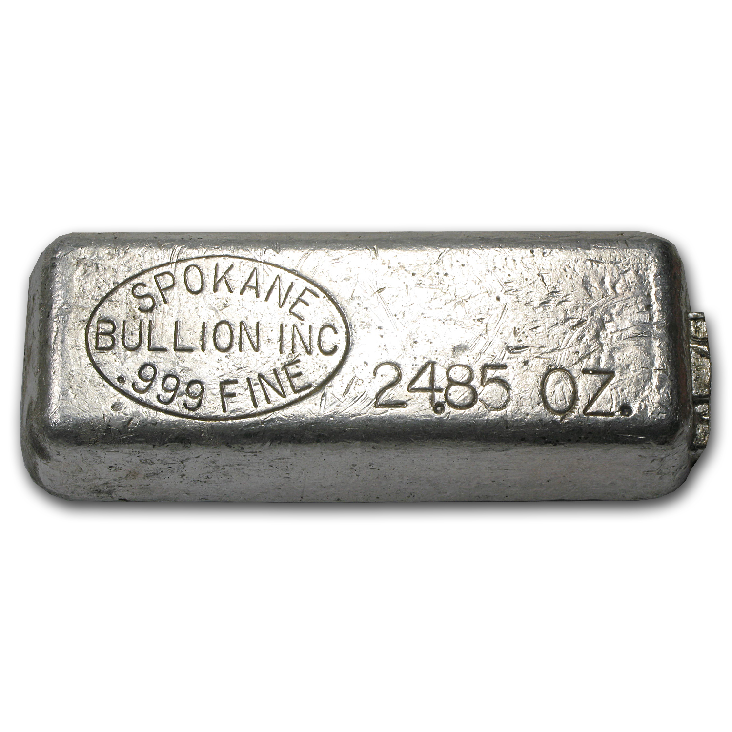 24.85 oz Silver Bar - Spokane Bullion Inc