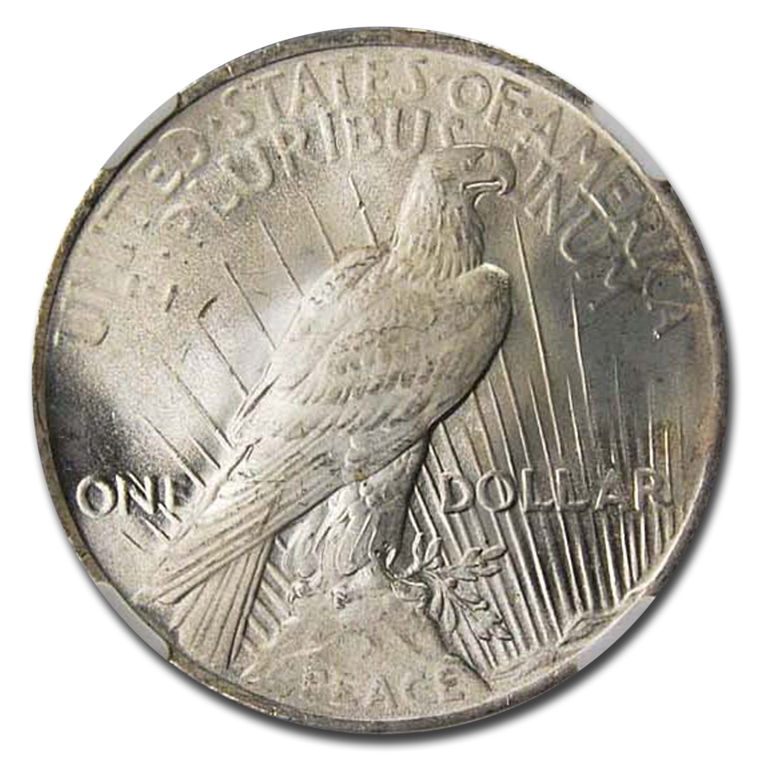 1923 Peace Dollar MS-66 NGC (CAC)