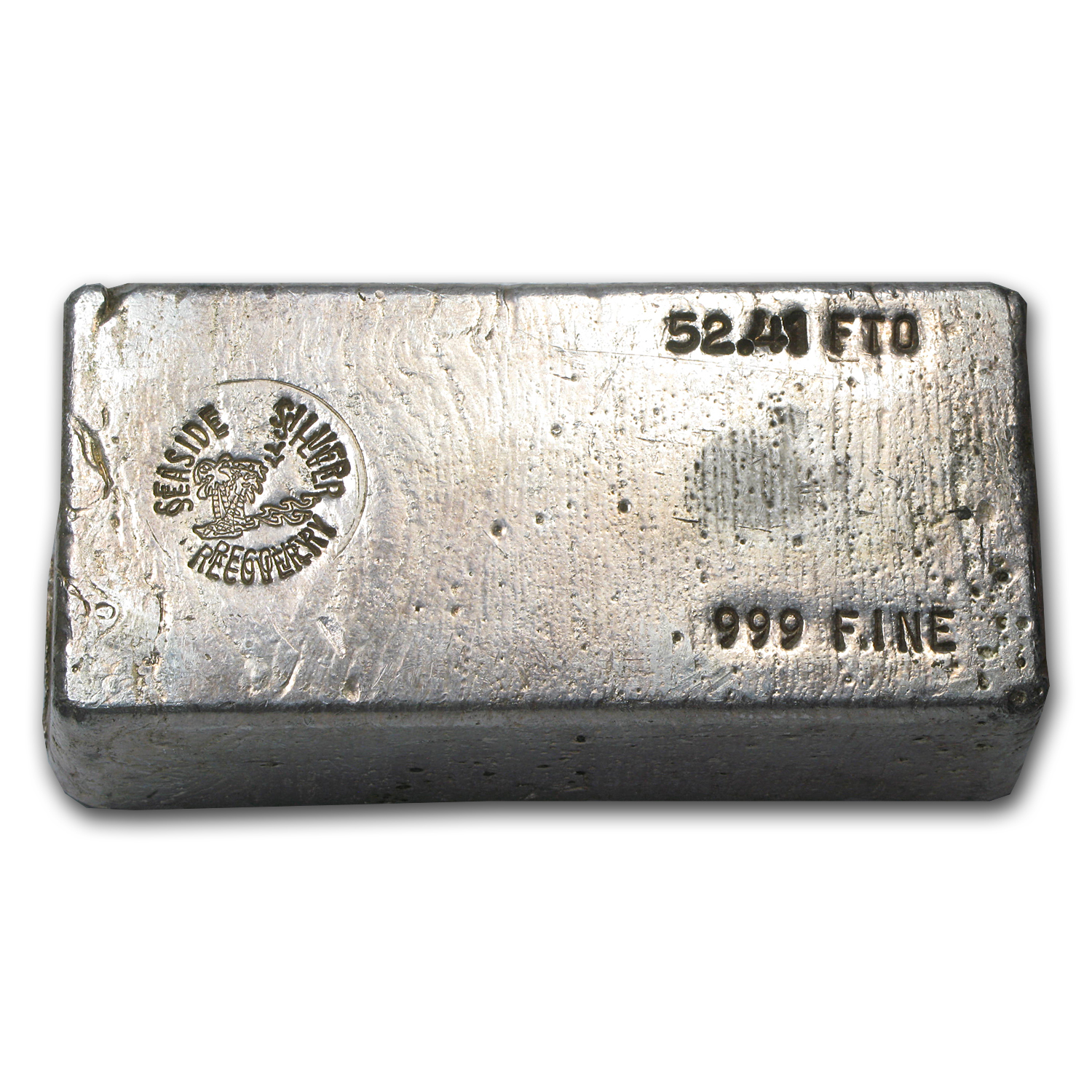 52.41 Silver Bar - Seaside Silver Recovery
