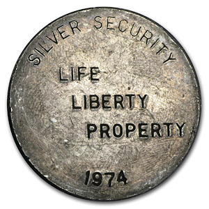 1 oz Silver Round - Silver Security