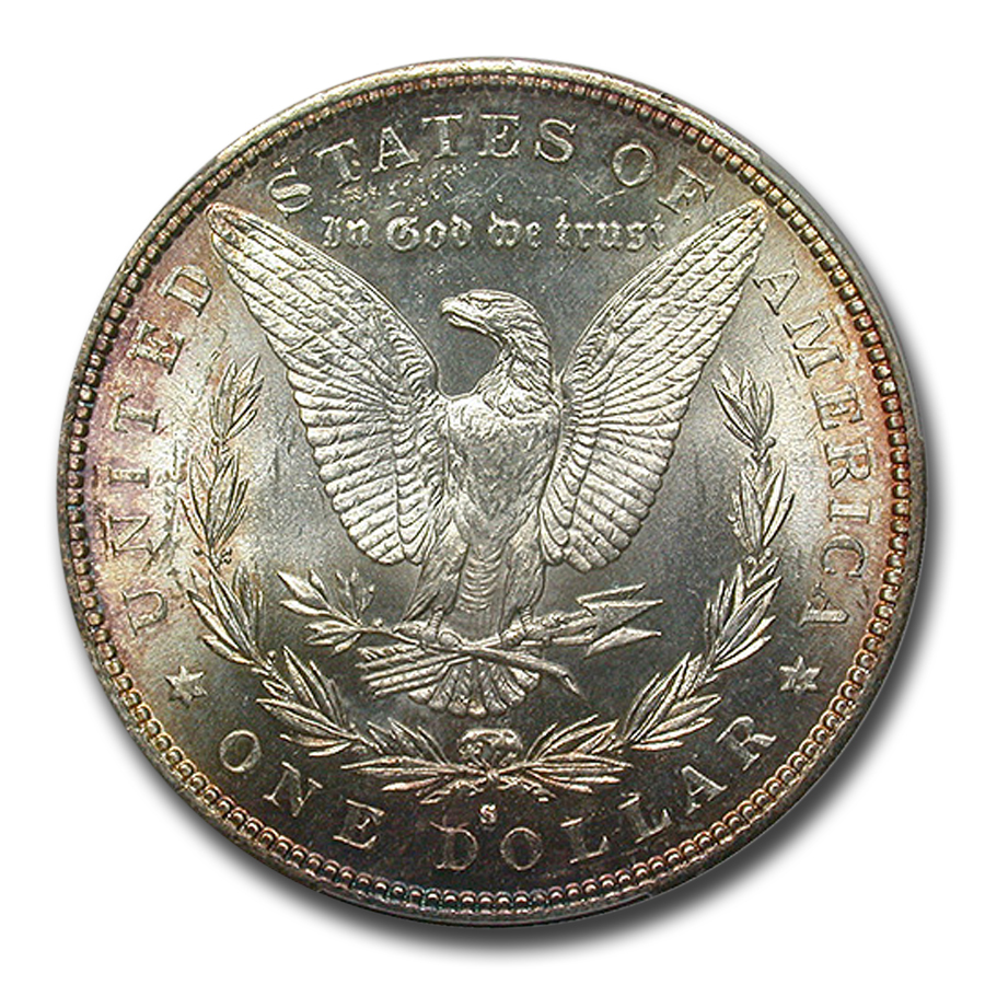 1882-S Morgan Dollar MS-67 PCGS (CAC)