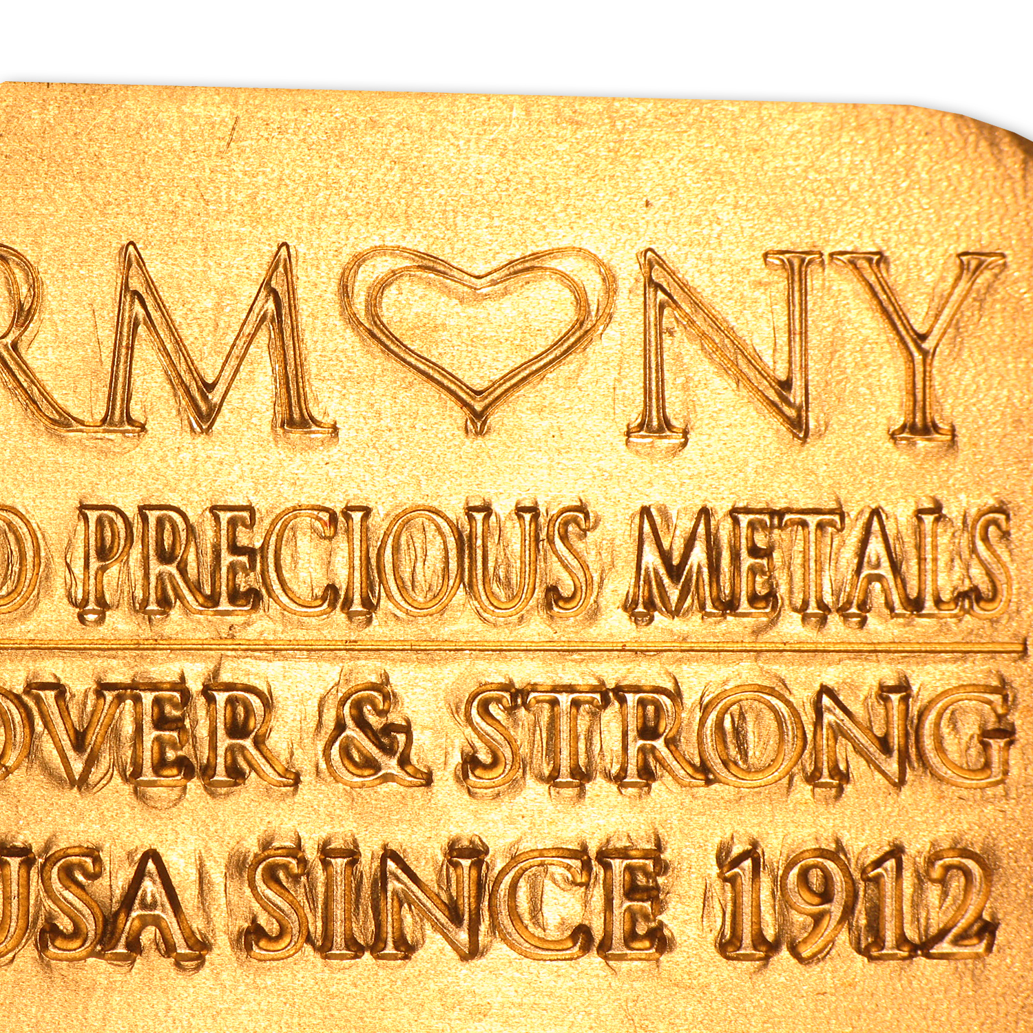 5 oz Gold Bars - Harmony Precious Metals