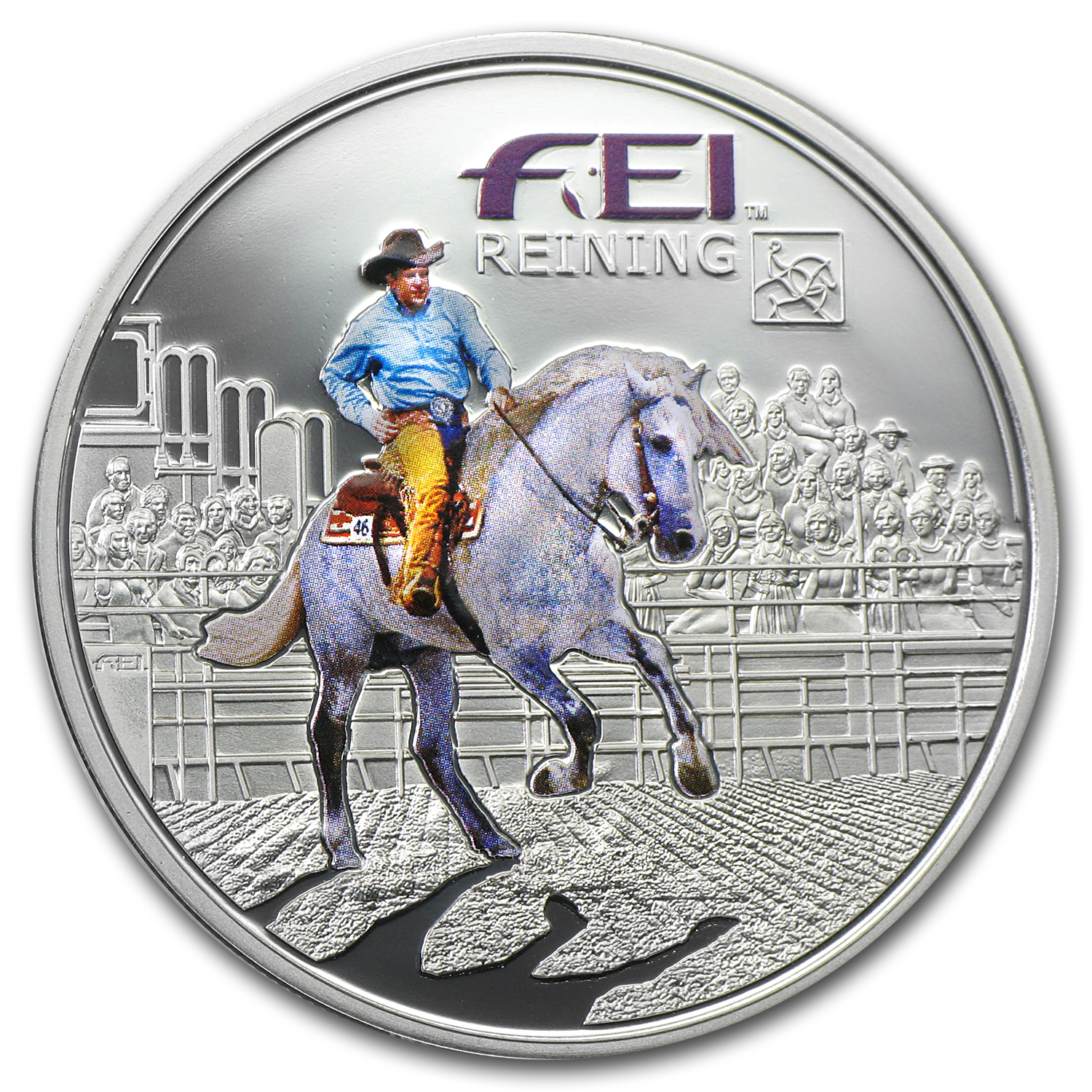 2013 Andorra Silver Fédération Equestre Internationale Reining