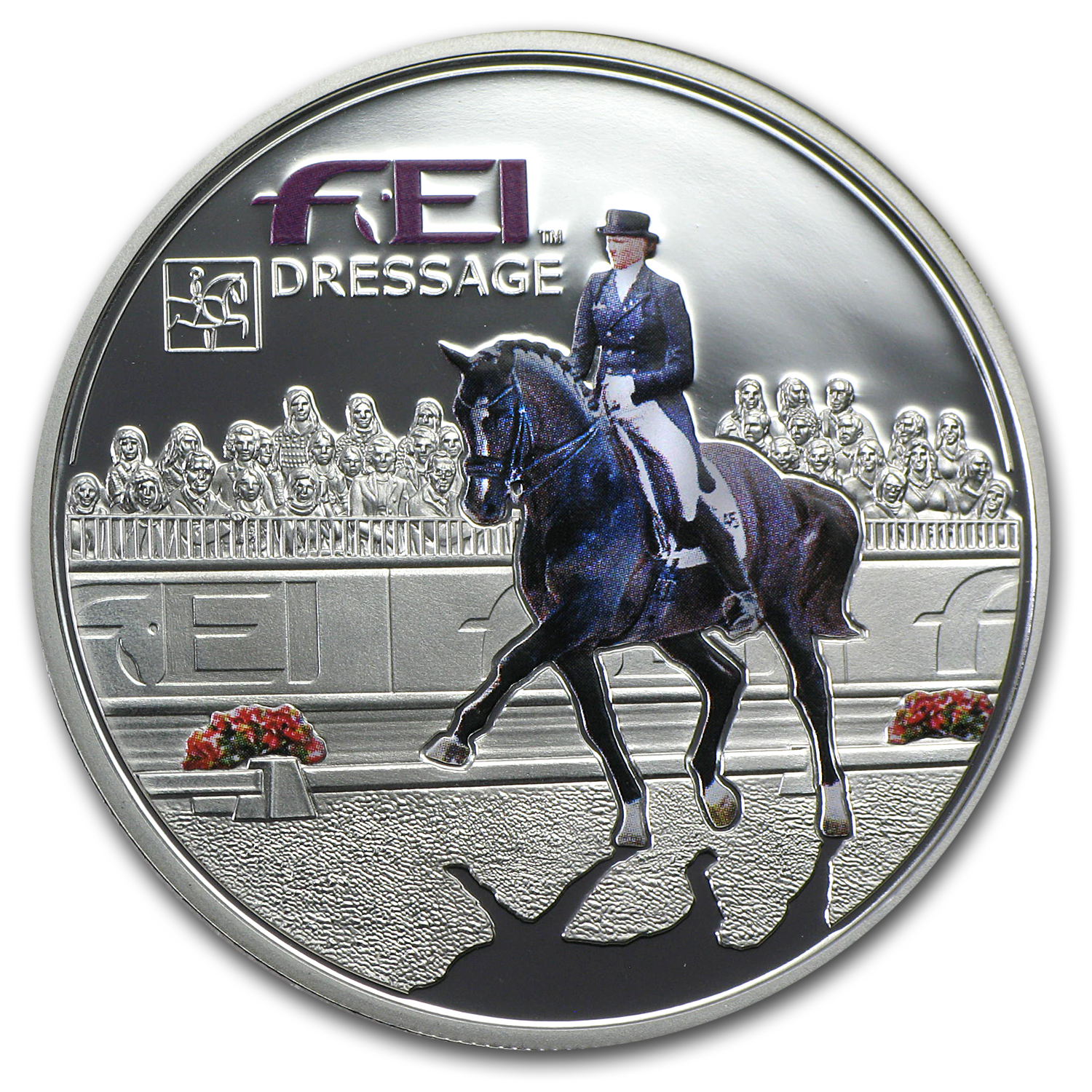 Andorra 2013 Silver Fédération Equestre Internationale - Dressage