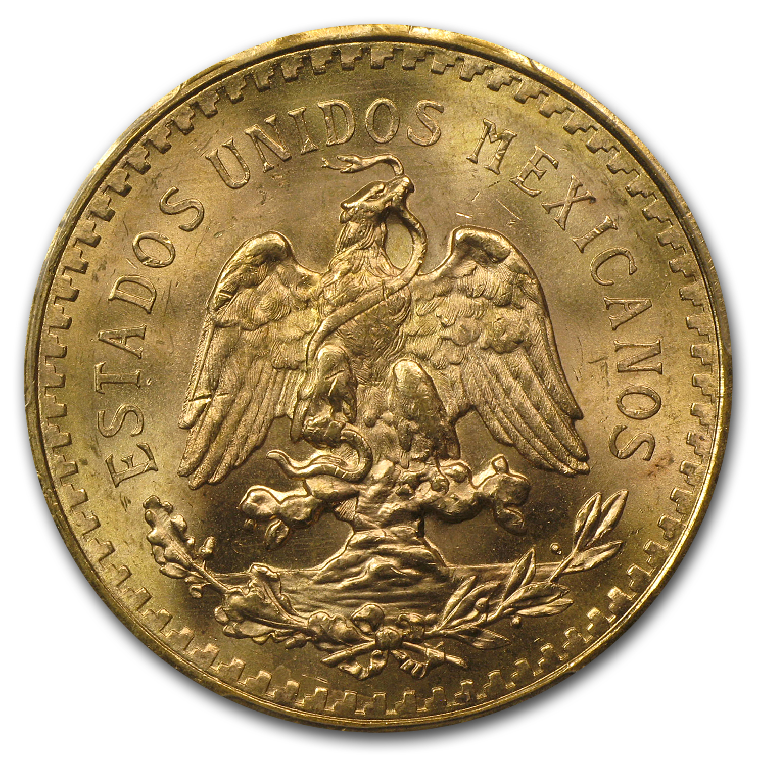 Mexico 1944 50 Pesos Gold Coin - MS-66 PCGS - Finest Known!