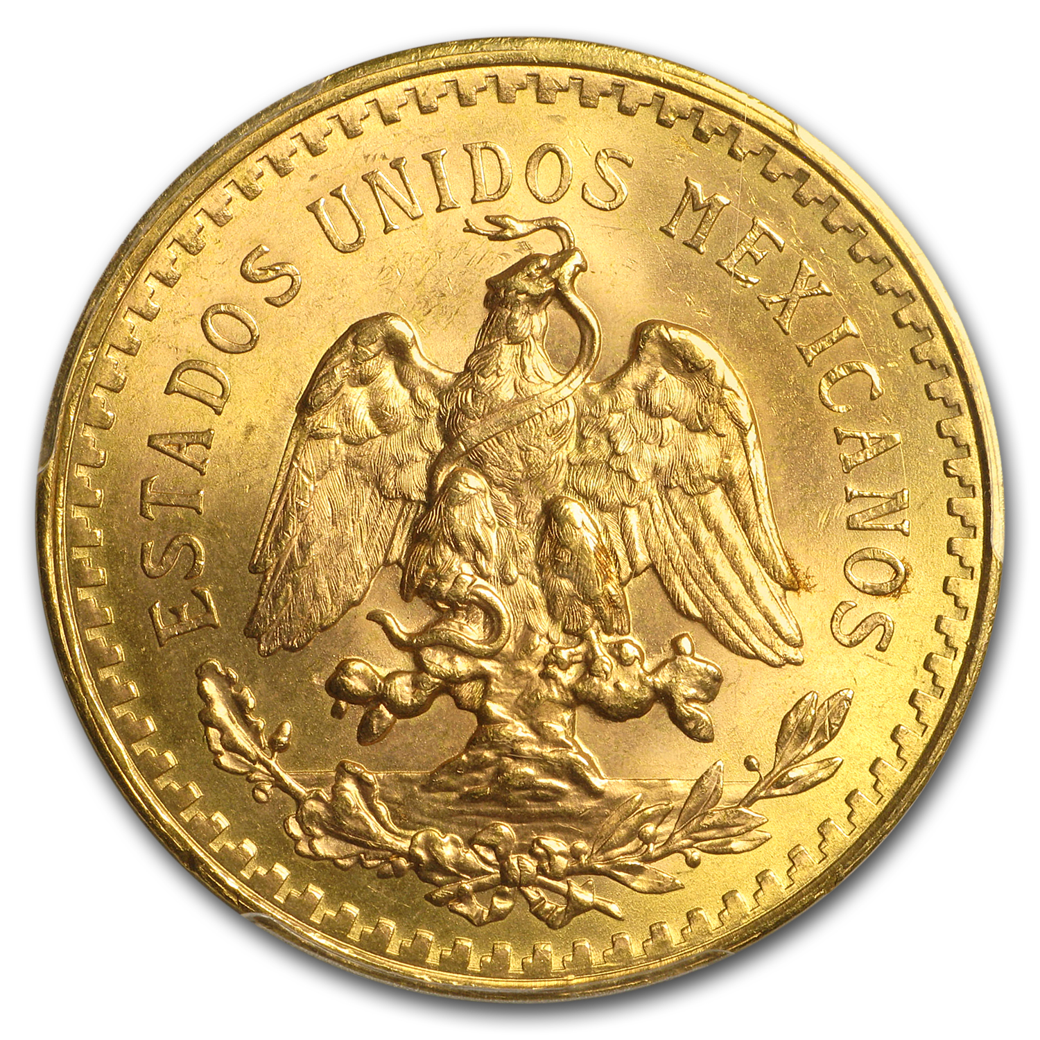 1946 Mexico Gold 50 Pesos MS-66 PCGS