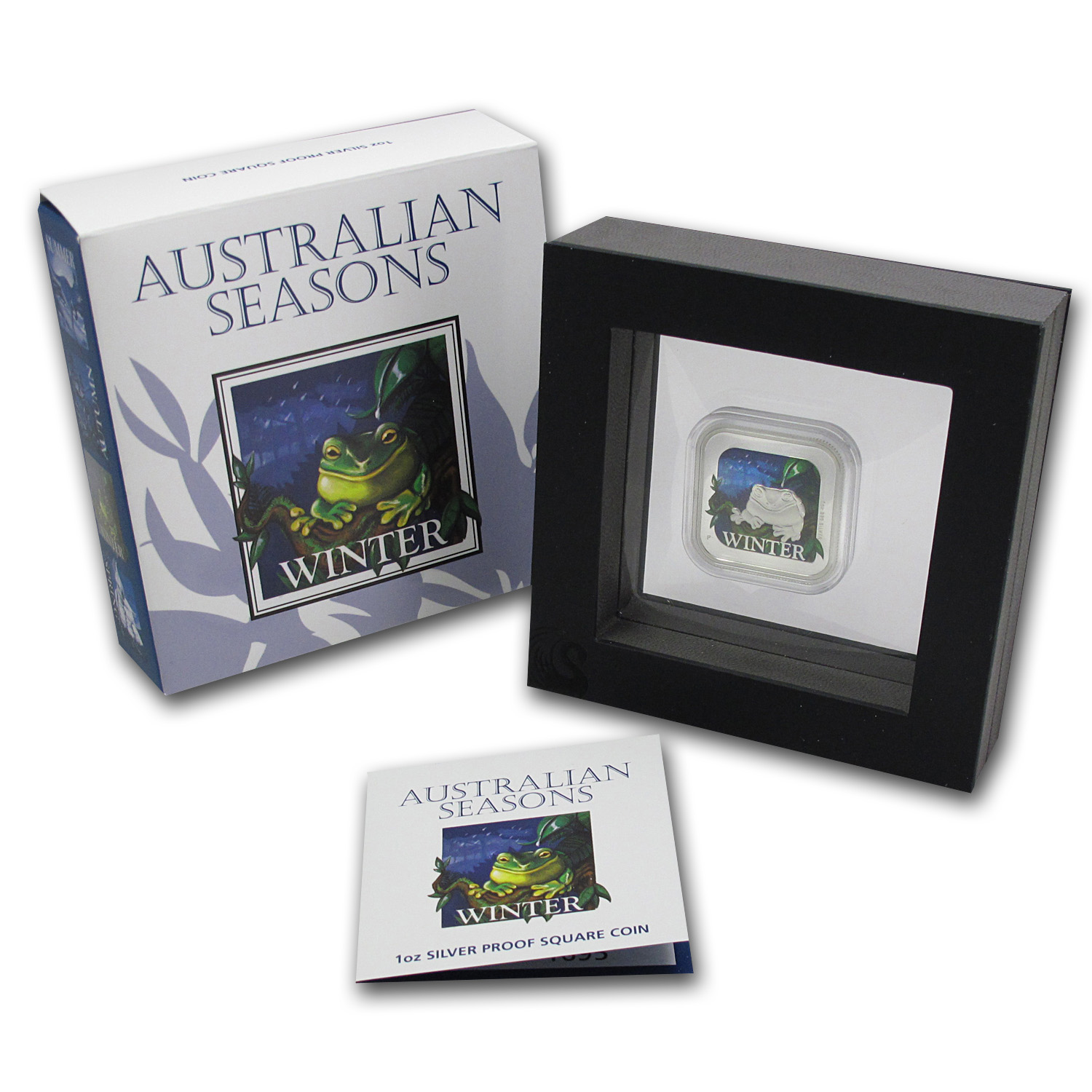 2013 Australia 1 oz Silver Seasons Winter Proof