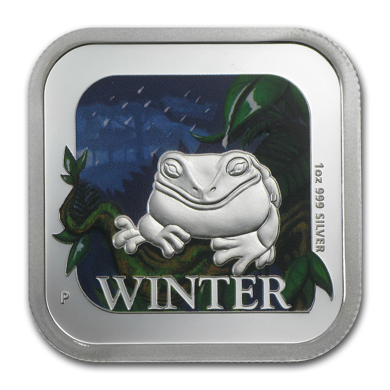 2013 1 oz Proof Silver Winter - Australian Seasons