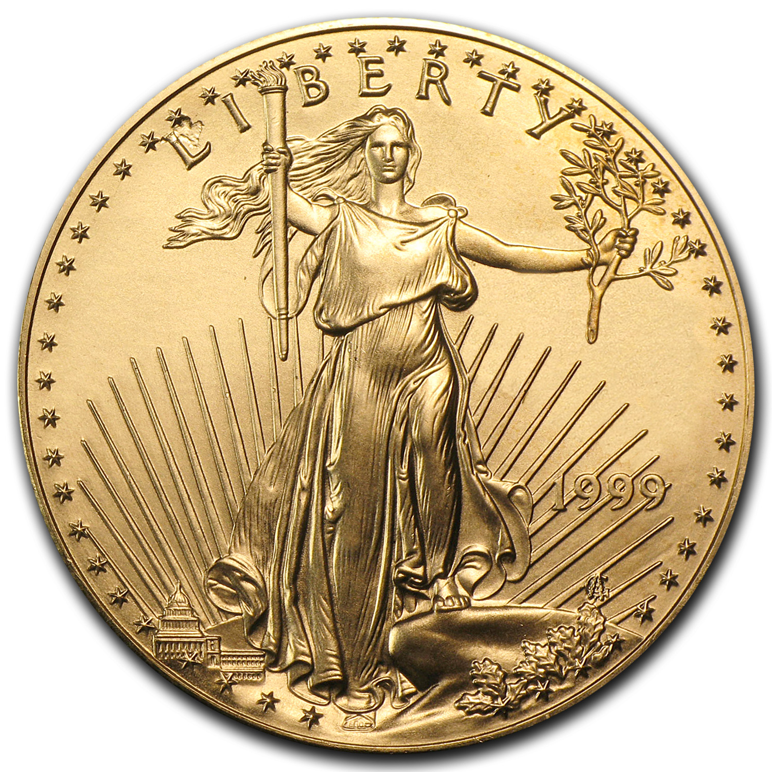 1999 1 oz Gold American Eagle (BU)
