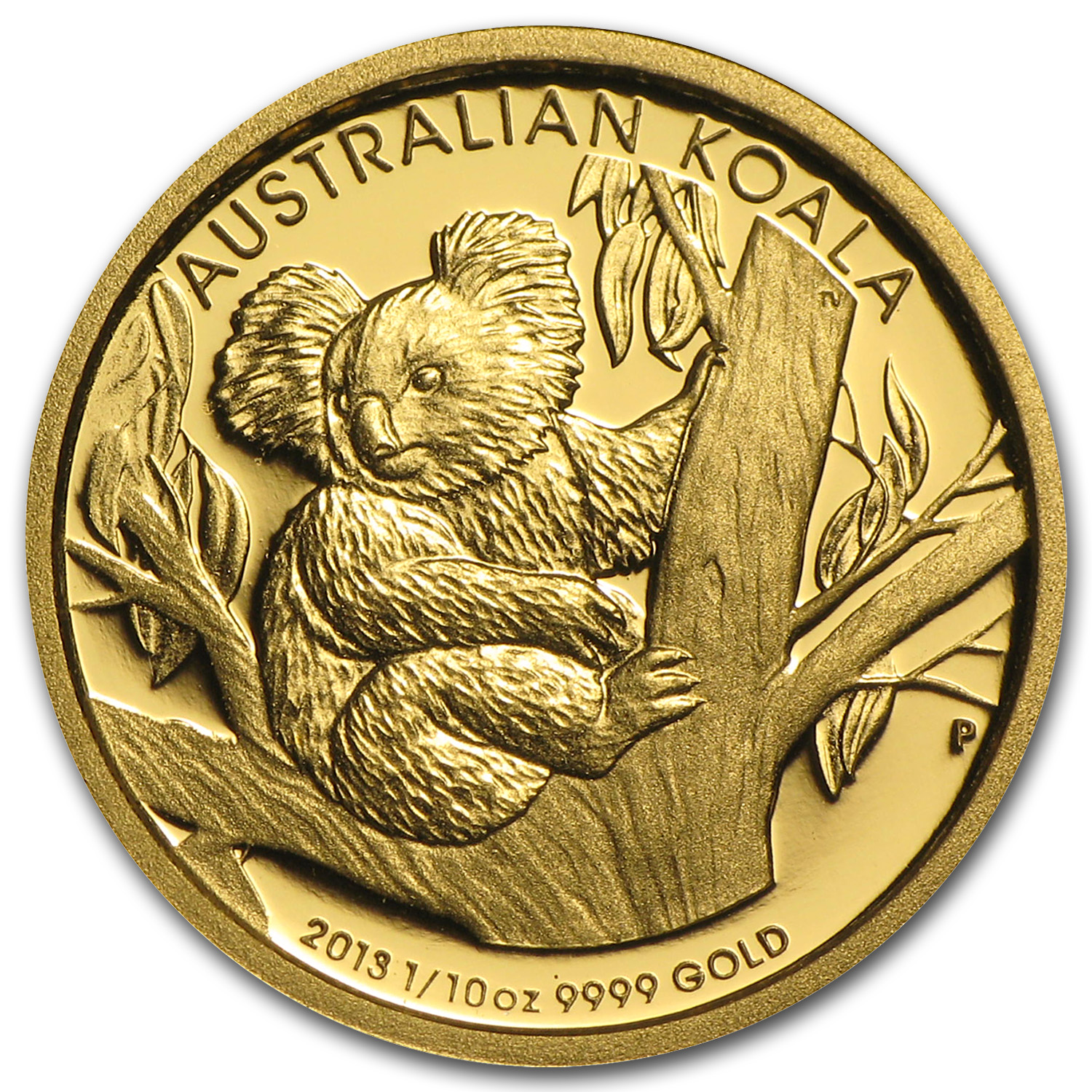2013 1/10 oz Australian Gold Koala Proof