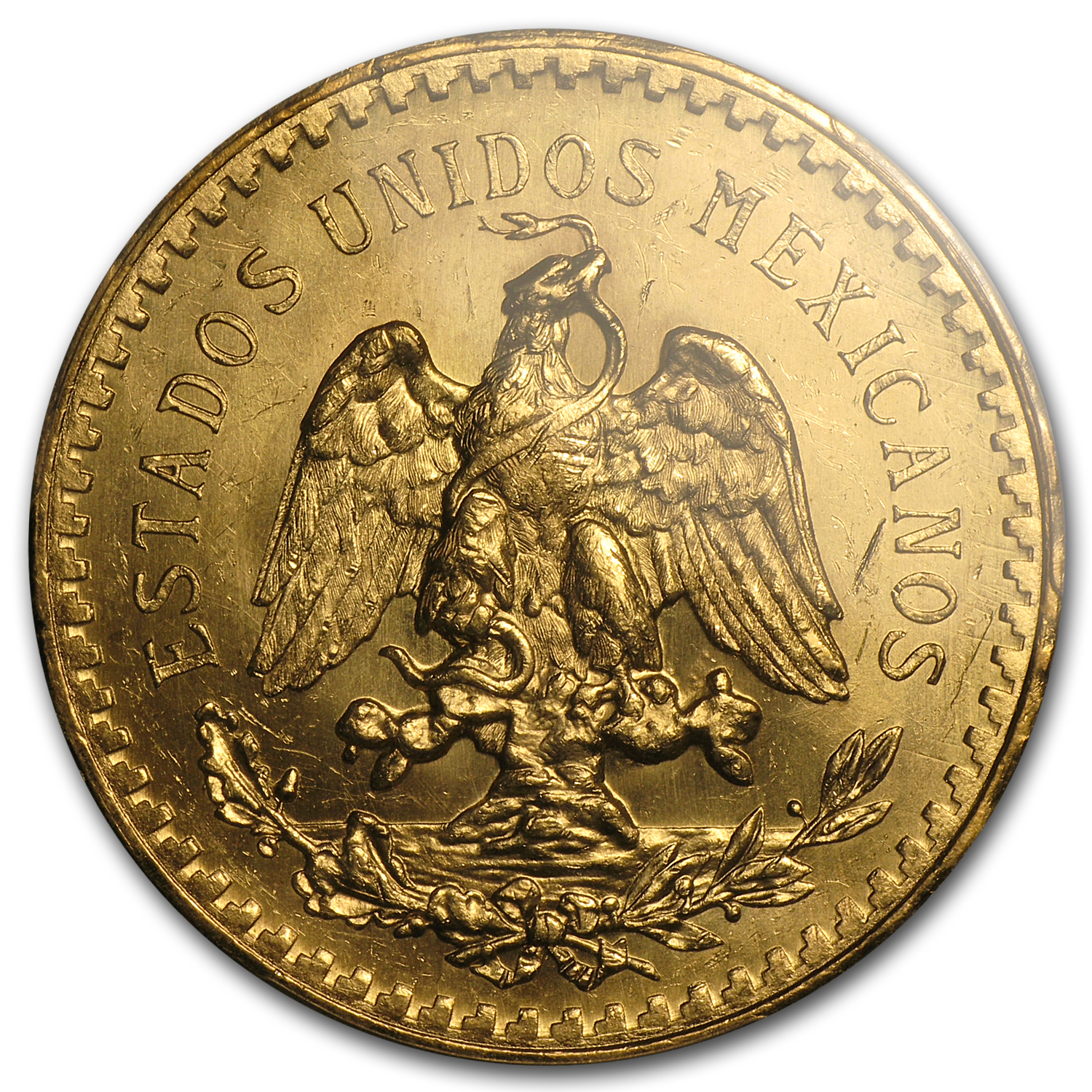1931 Mexico Gold 50 Pesos MS-63+ PCGS