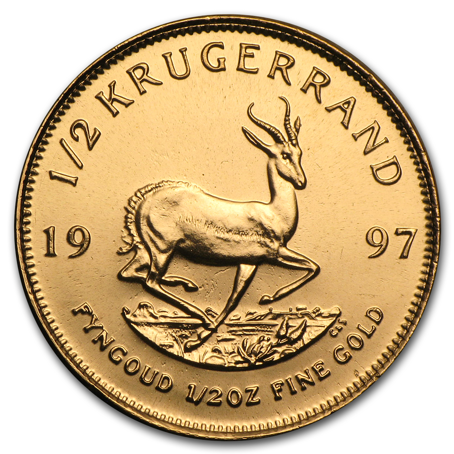 1997 1/2 oz Gold South African Krugerrand