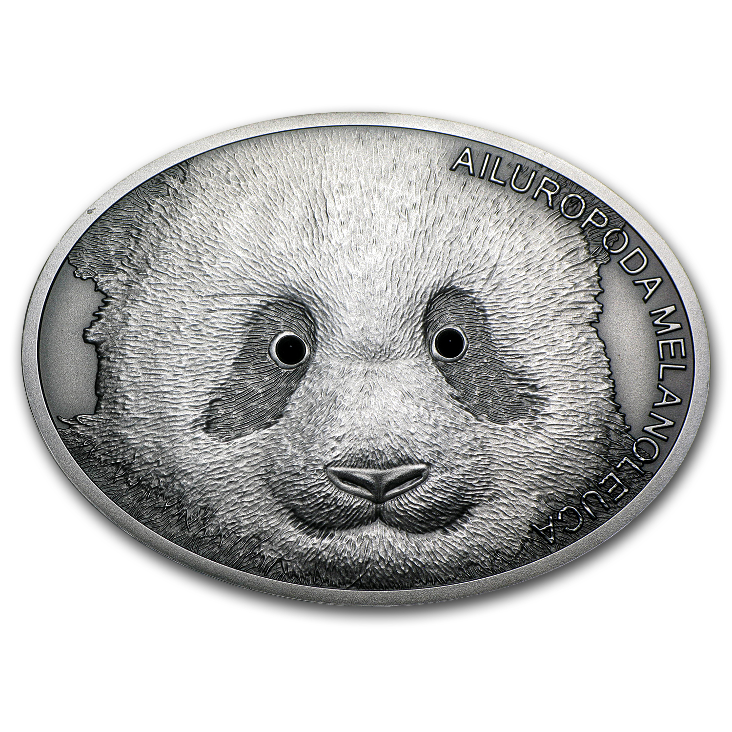 2013 Fiji 1 oz Silver $10 Fascinating Wildlife Giant Panda