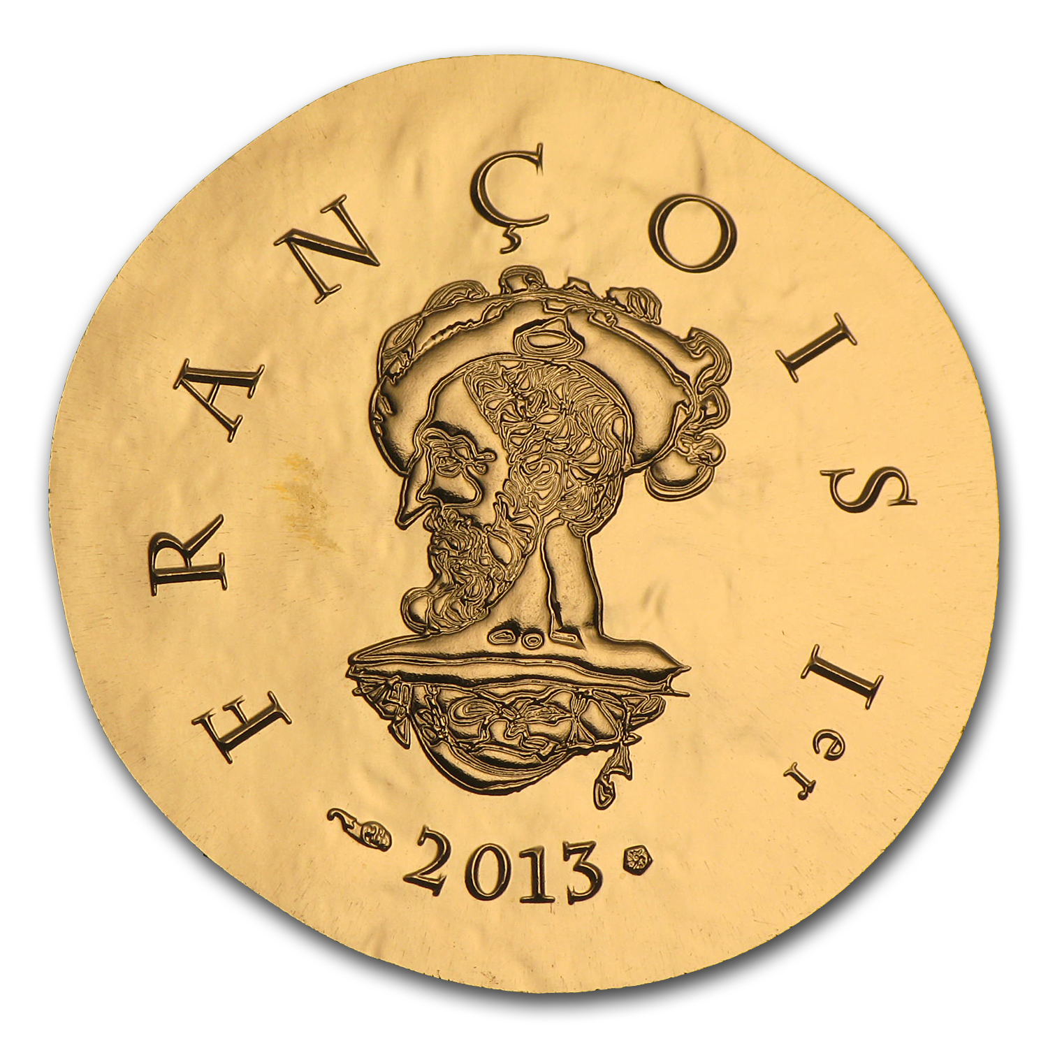 2013 1/4 oz Proof Gold €50 Legendary Collection Francis I