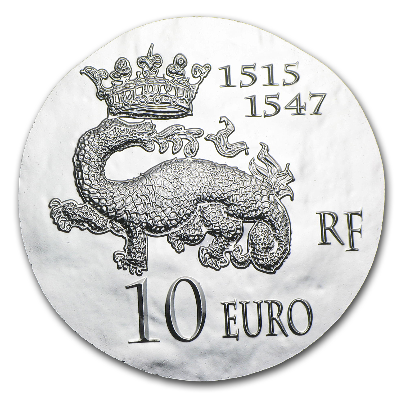 2013 France Silver €10 Legendary Collection Proof (Francis I)
