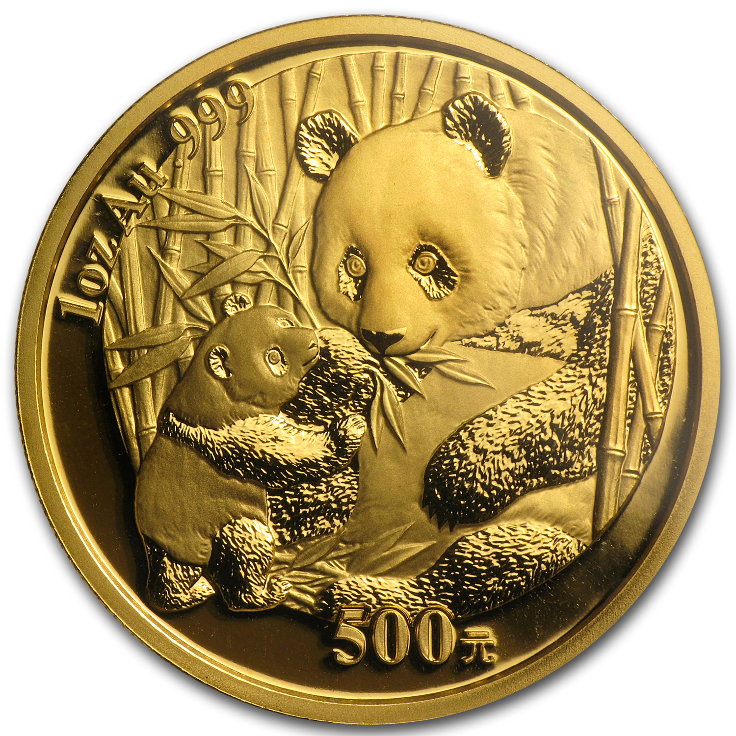 2005 1 oz Gold Chinese Panda MS-68 NGC