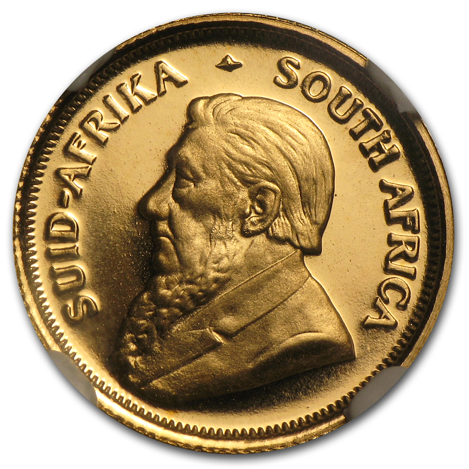 1981 1/10 oz Gold South African Krugerrand PF-69 NGC