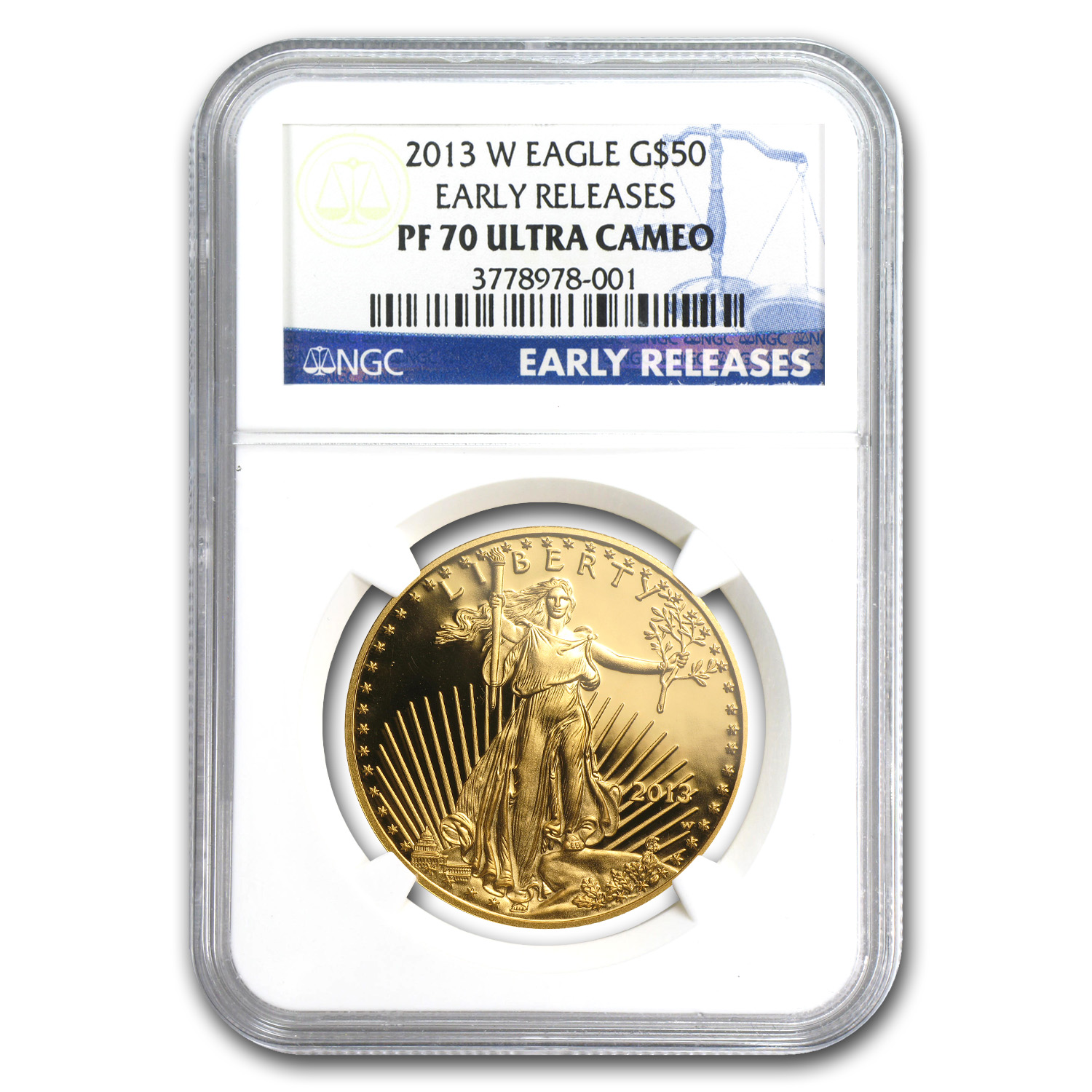 2013-W Gold & Silver American Eagle Set NGC PF-70 Early Releases